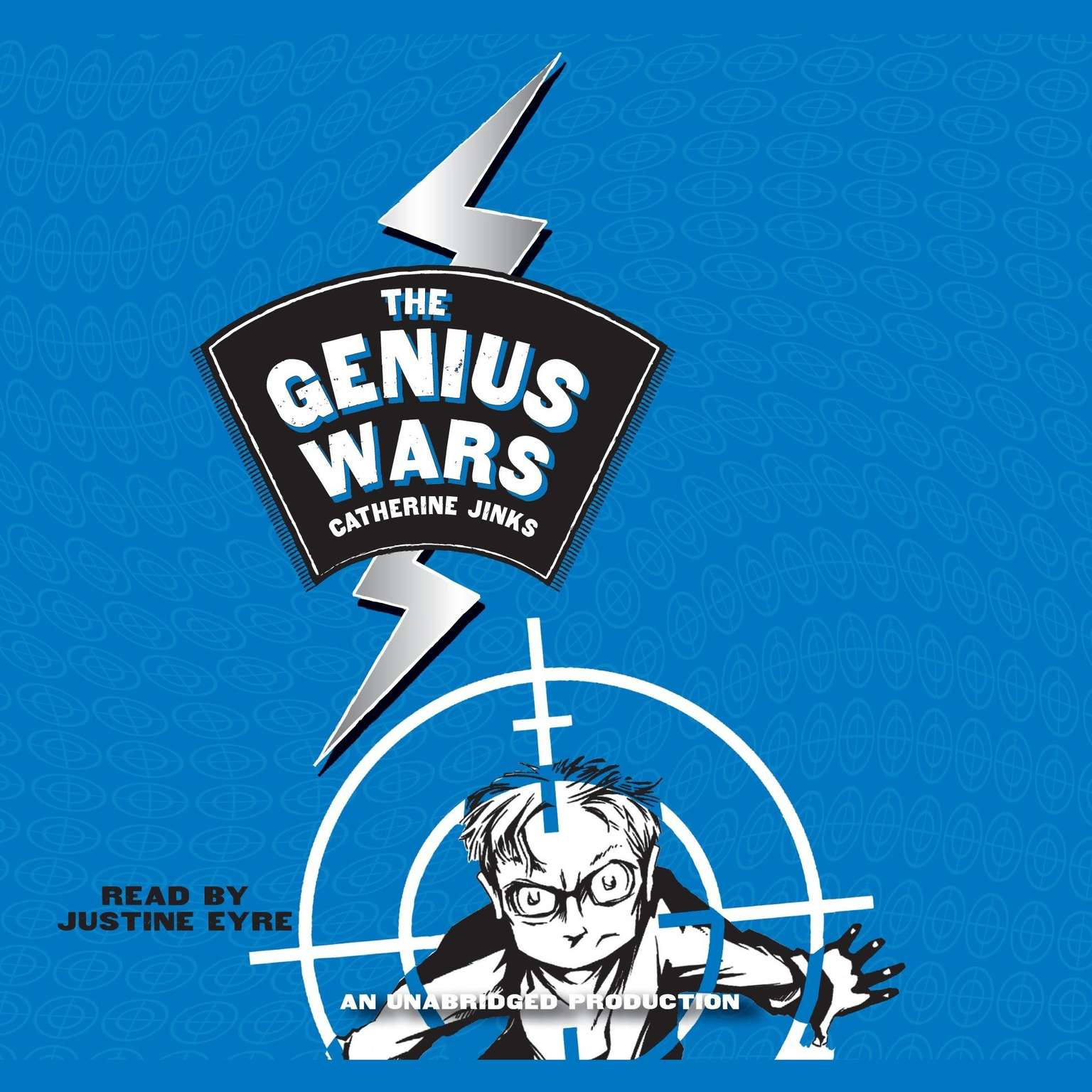 Printable Genius Wars Audiobook Cover Art