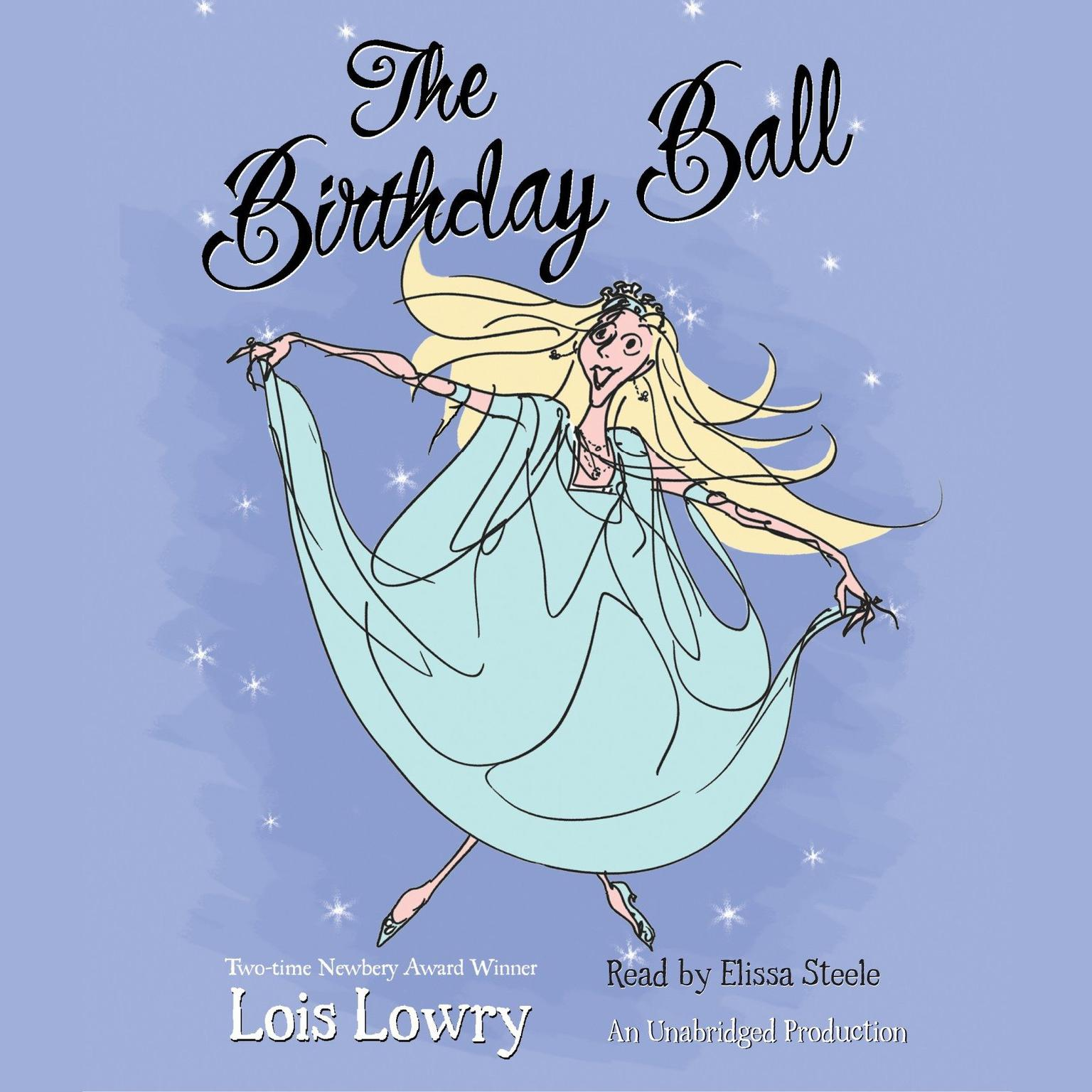 Printable The Birthday Ball Audiobook Cover Art