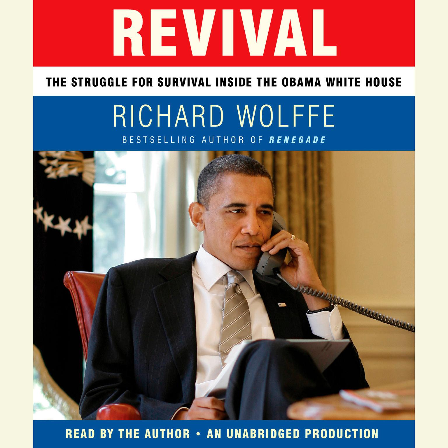 Printable Revival: The Struggle for Survival Inside the Obama White House Audiobook Cover Art