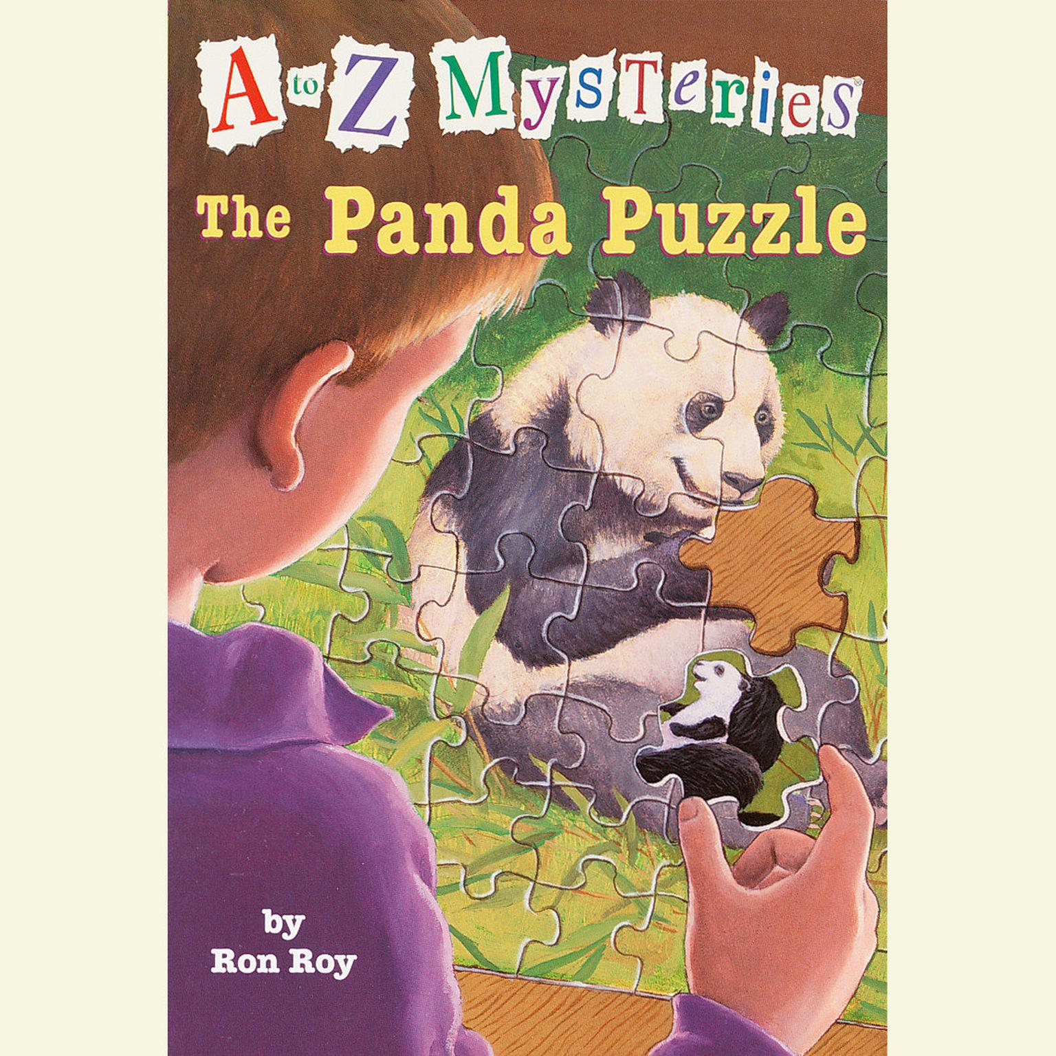 Printable A to Z Mysteries: The Panda Puzzle Audiobook Cover Art