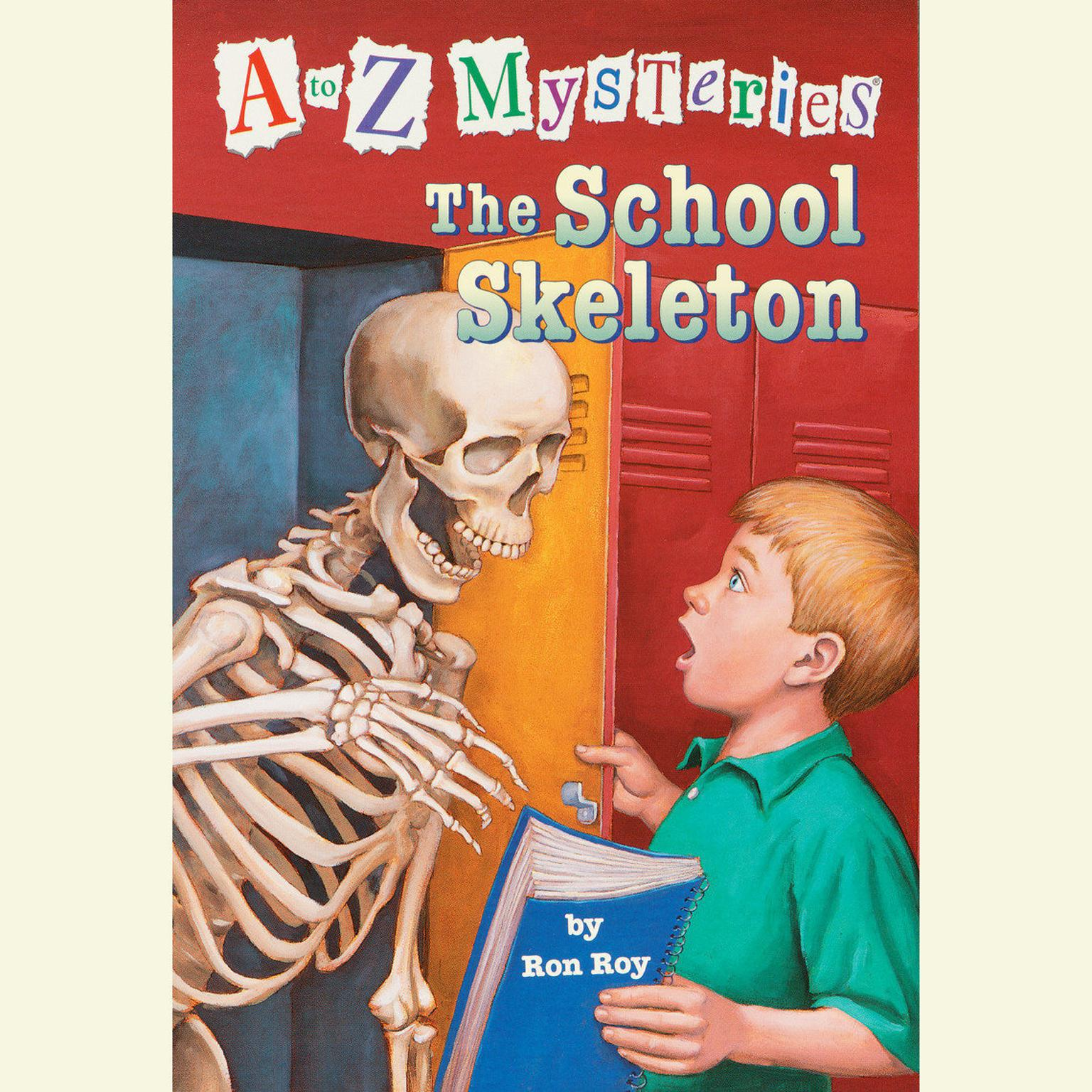 Printable The School Skeleton Audiobook Cover Art
