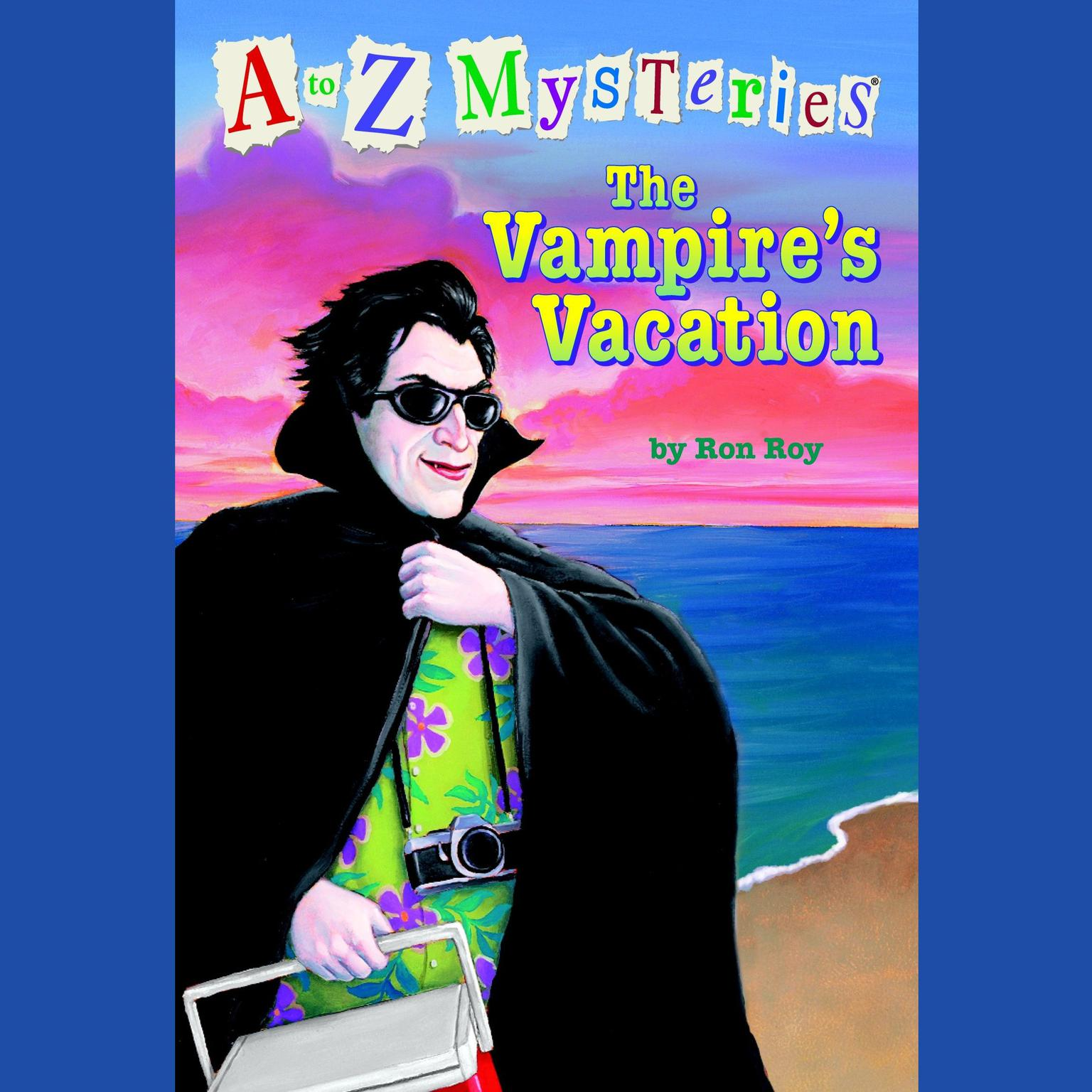 Printable A to Z Mysteries: The Vampire's Vacation Audiobook Cover Art