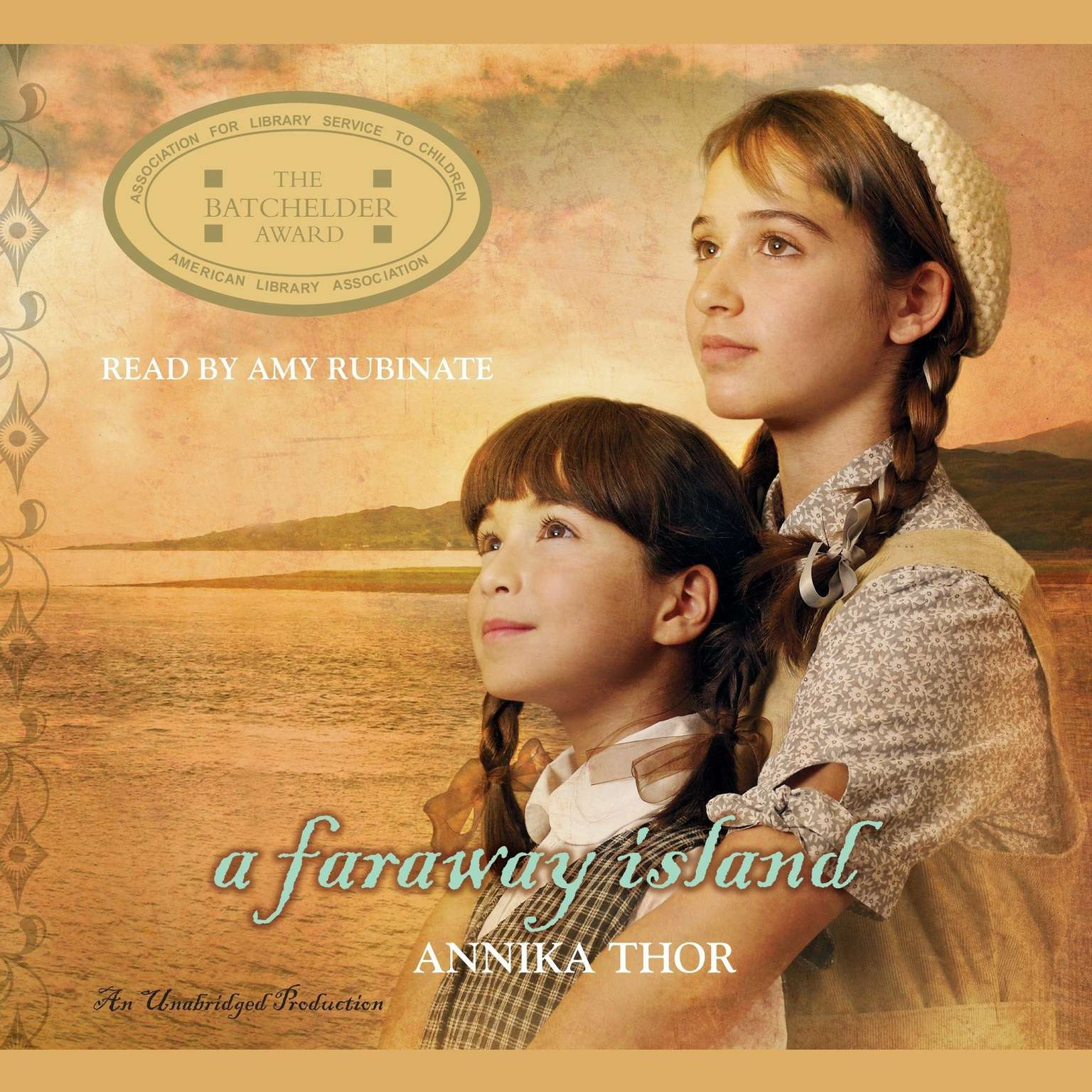 Printable A Faraway Island Audiobook Cover Art