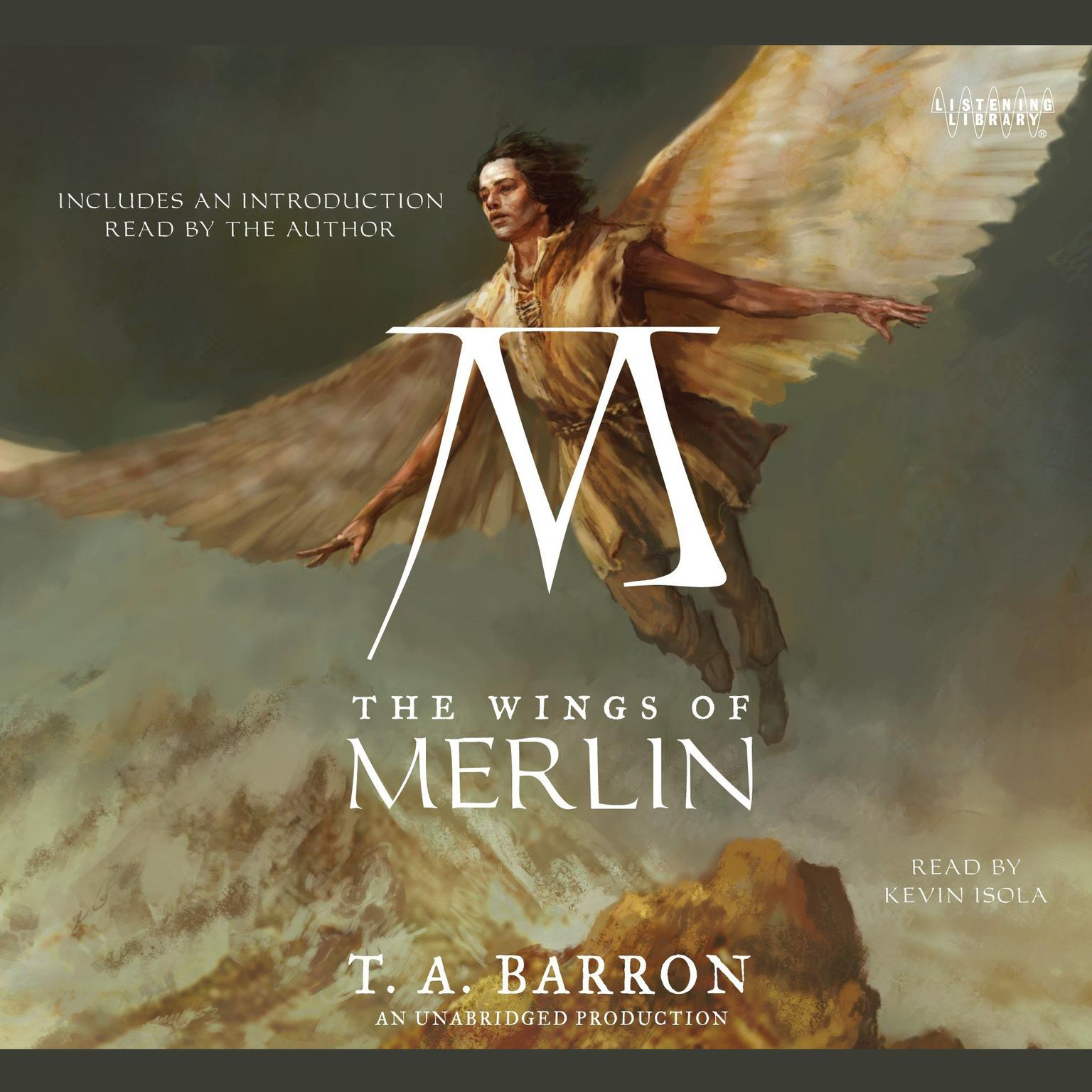 Printable The Wings of Merlin: Book 5 of The Lost Years of Merlin Audiobook Cover Art