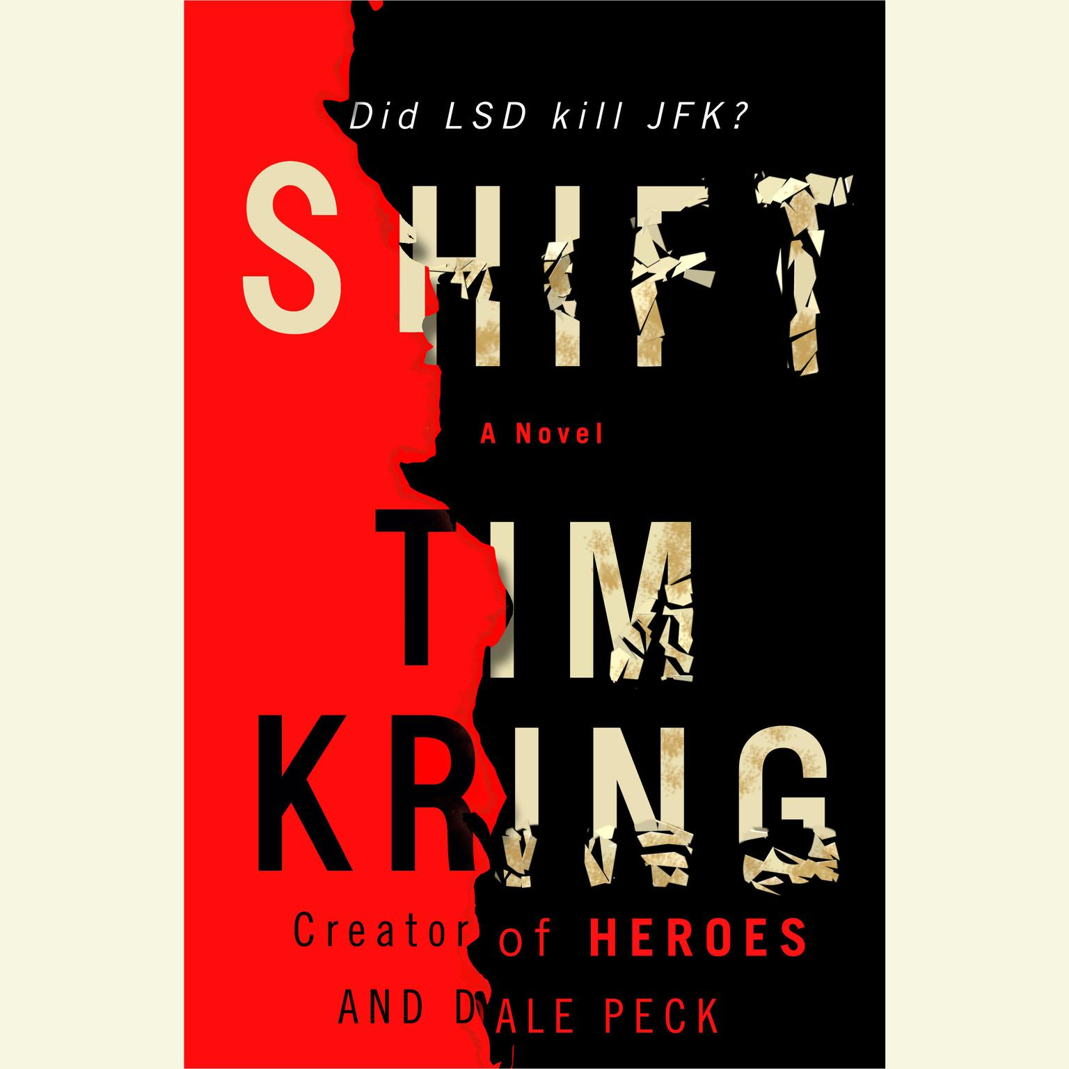 Printable Shift: A Novel Audiobook Cover Art