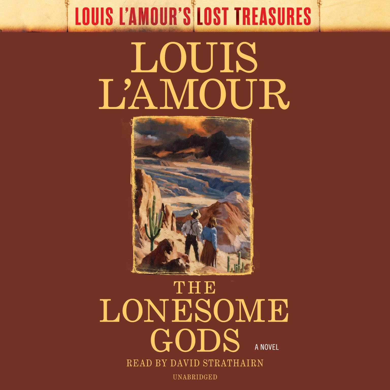Printable The Lonesome Gods Audiobook Cover Art