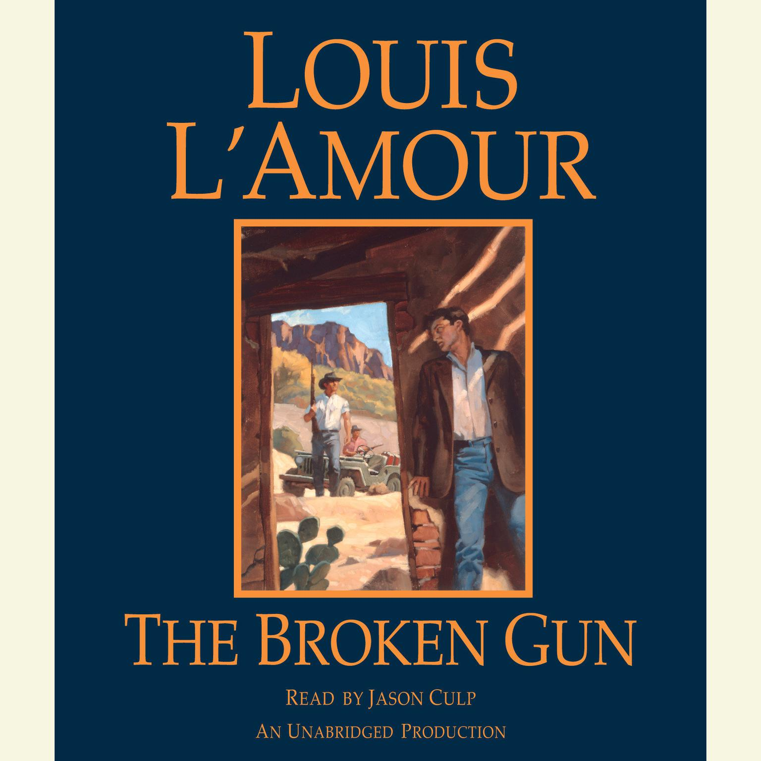 Printable The Broken Gun Audiobook Cover Art