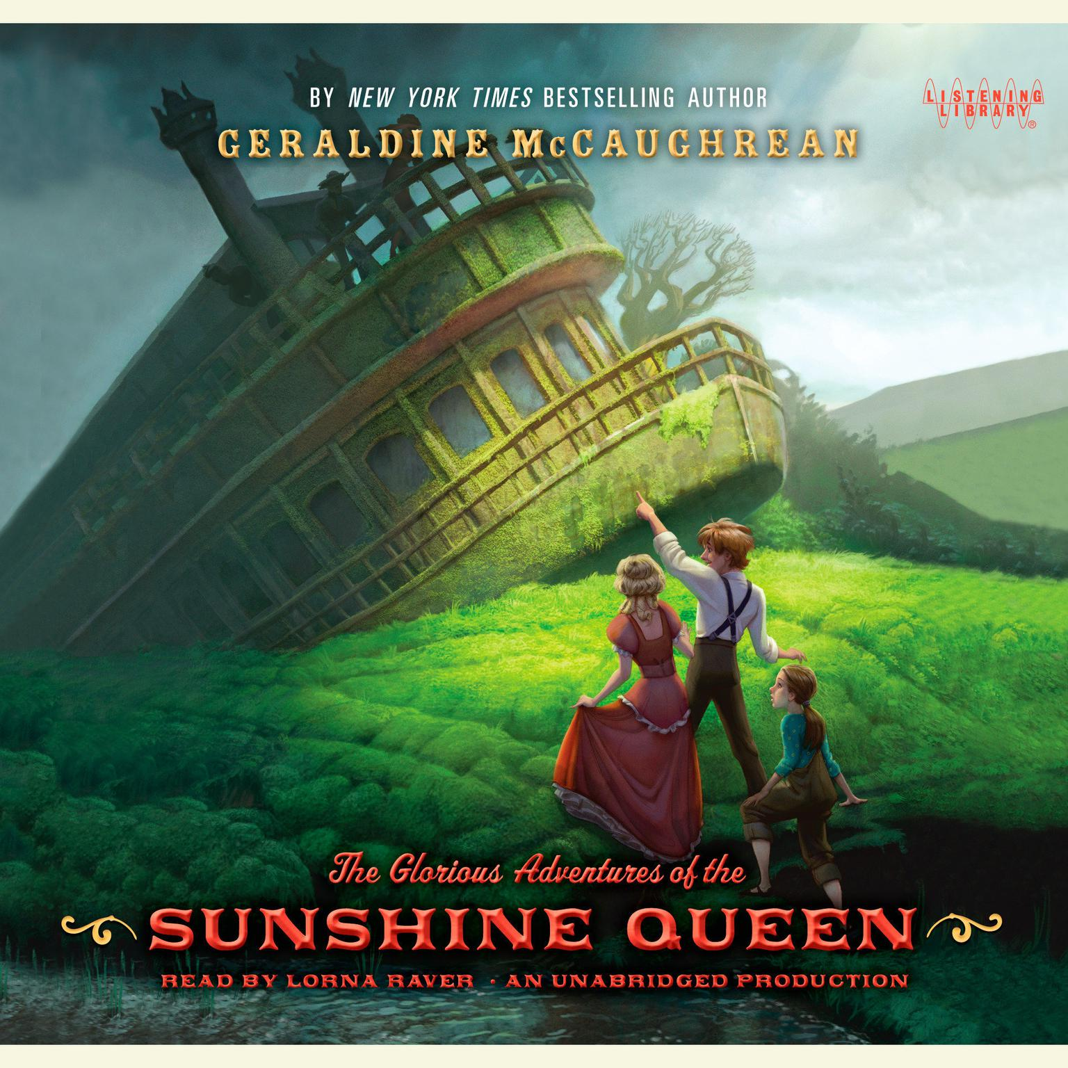 Printable The Glorious Adventures of the Sunshine Queen Audiobook Cover Art