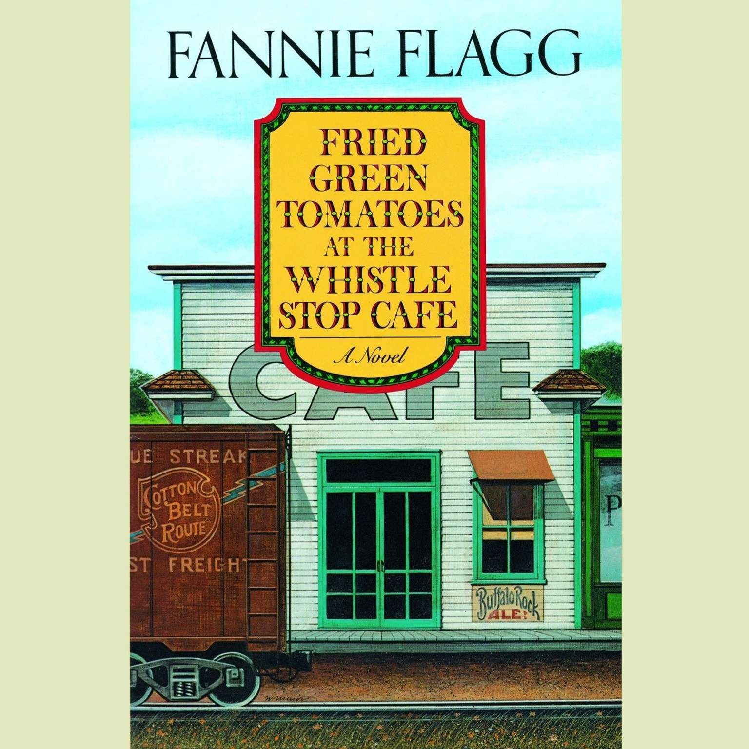 Printable Fried Green Tomatoes at the Whistle Stop Cafe Audiobook Cover Art