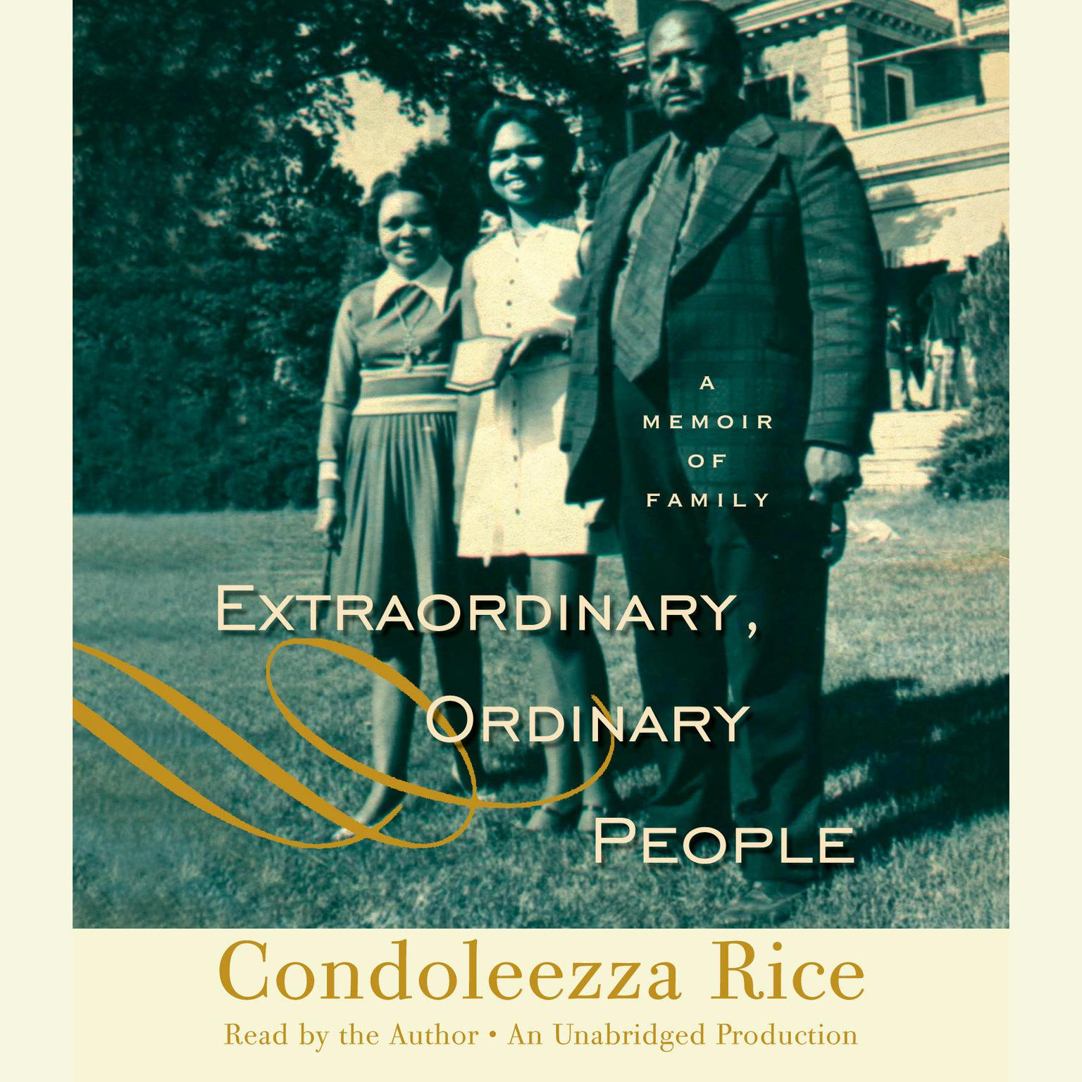 Printable Extraordinary, Ordinary People: A Memoir of Family Audiobook Cover Art
