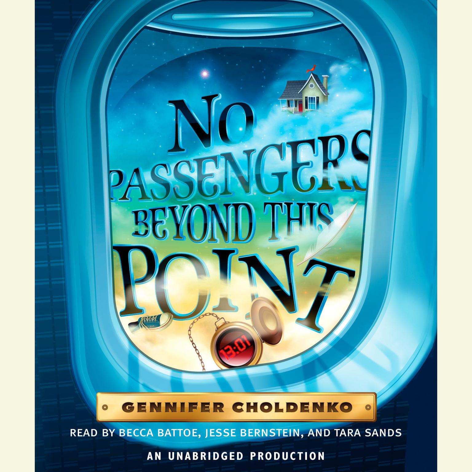 Printable No Passengers Beyond This Point Audiobook Cover Art