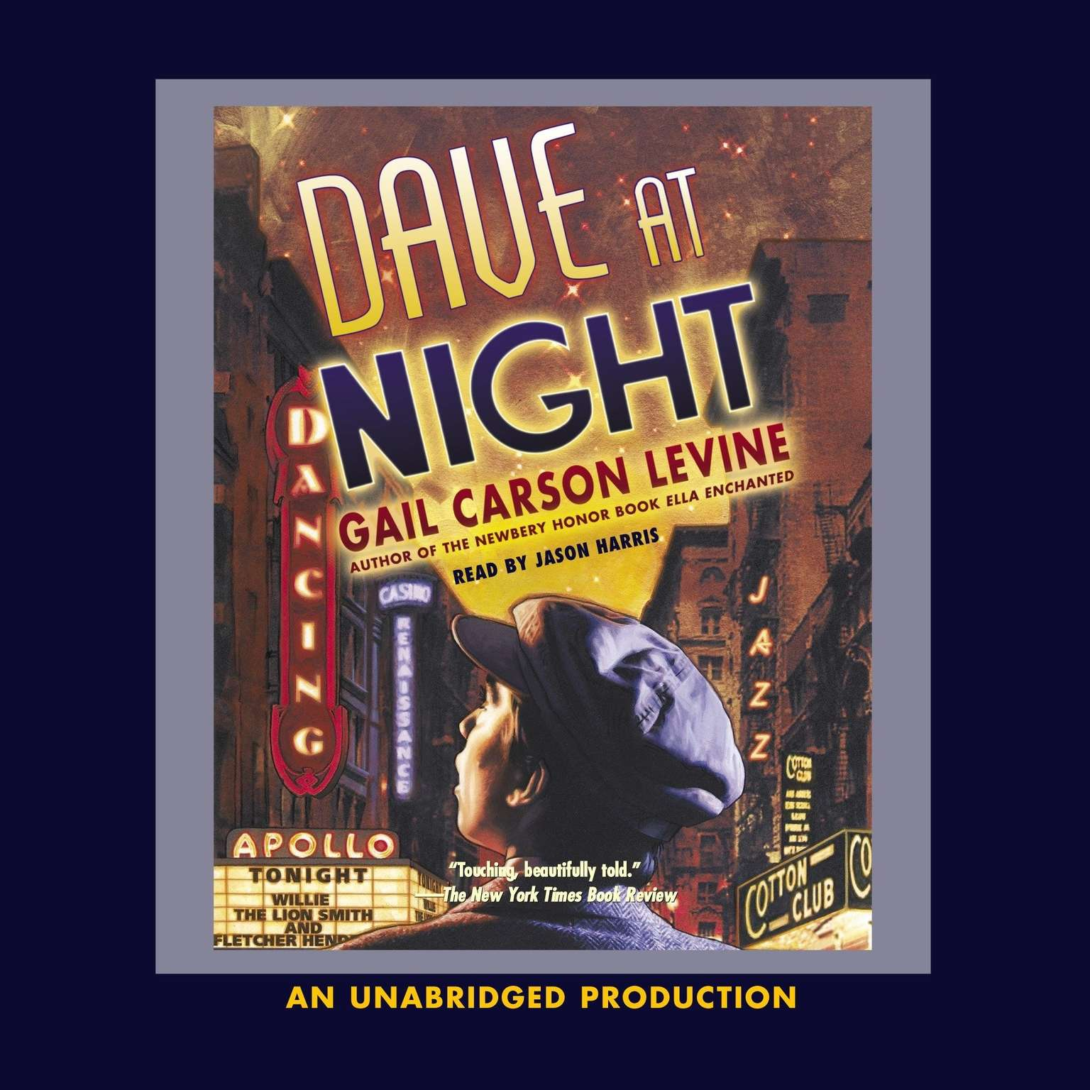 Printable Dave at Night Audiobook Cover Art