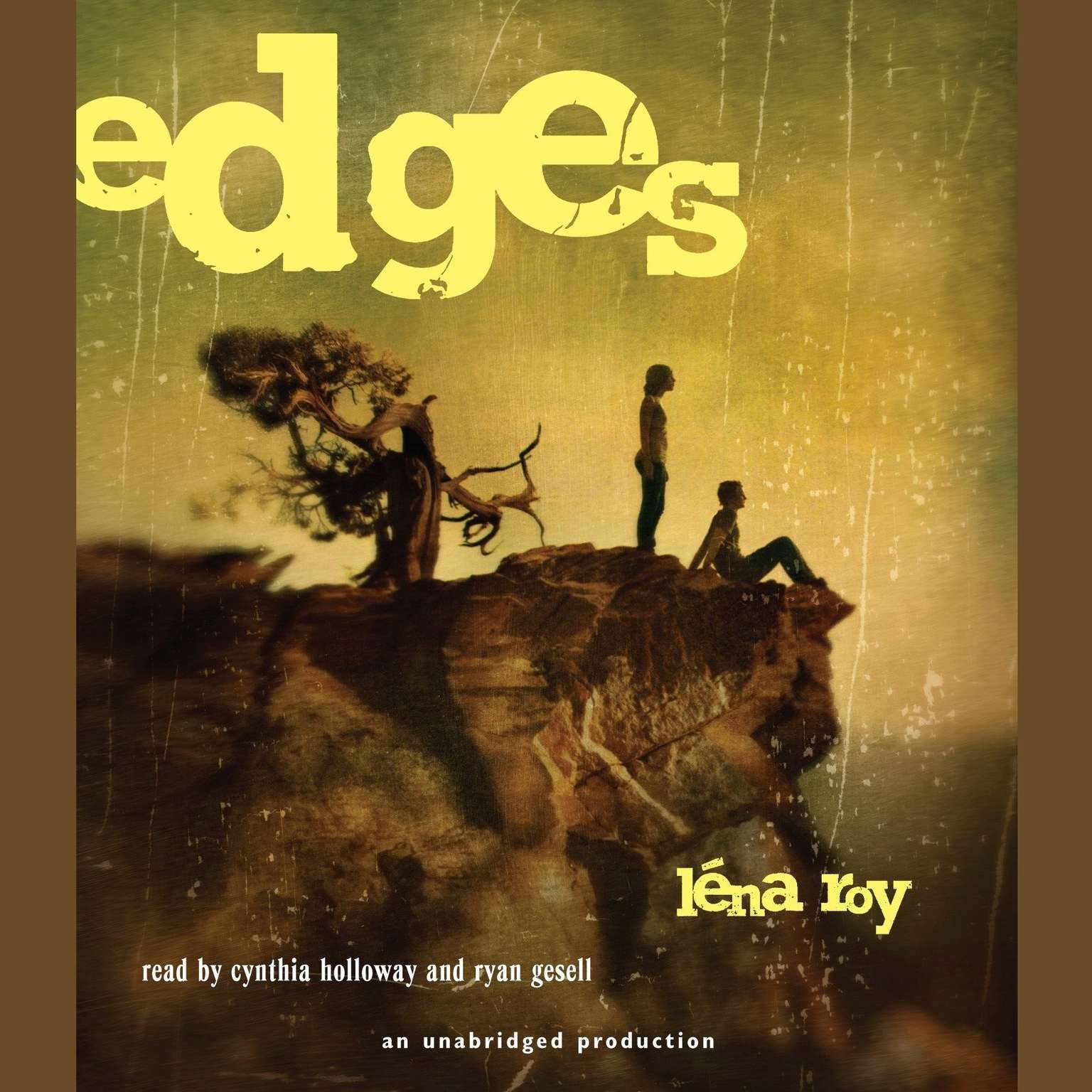 Printable Edges Audiobook Cover Art