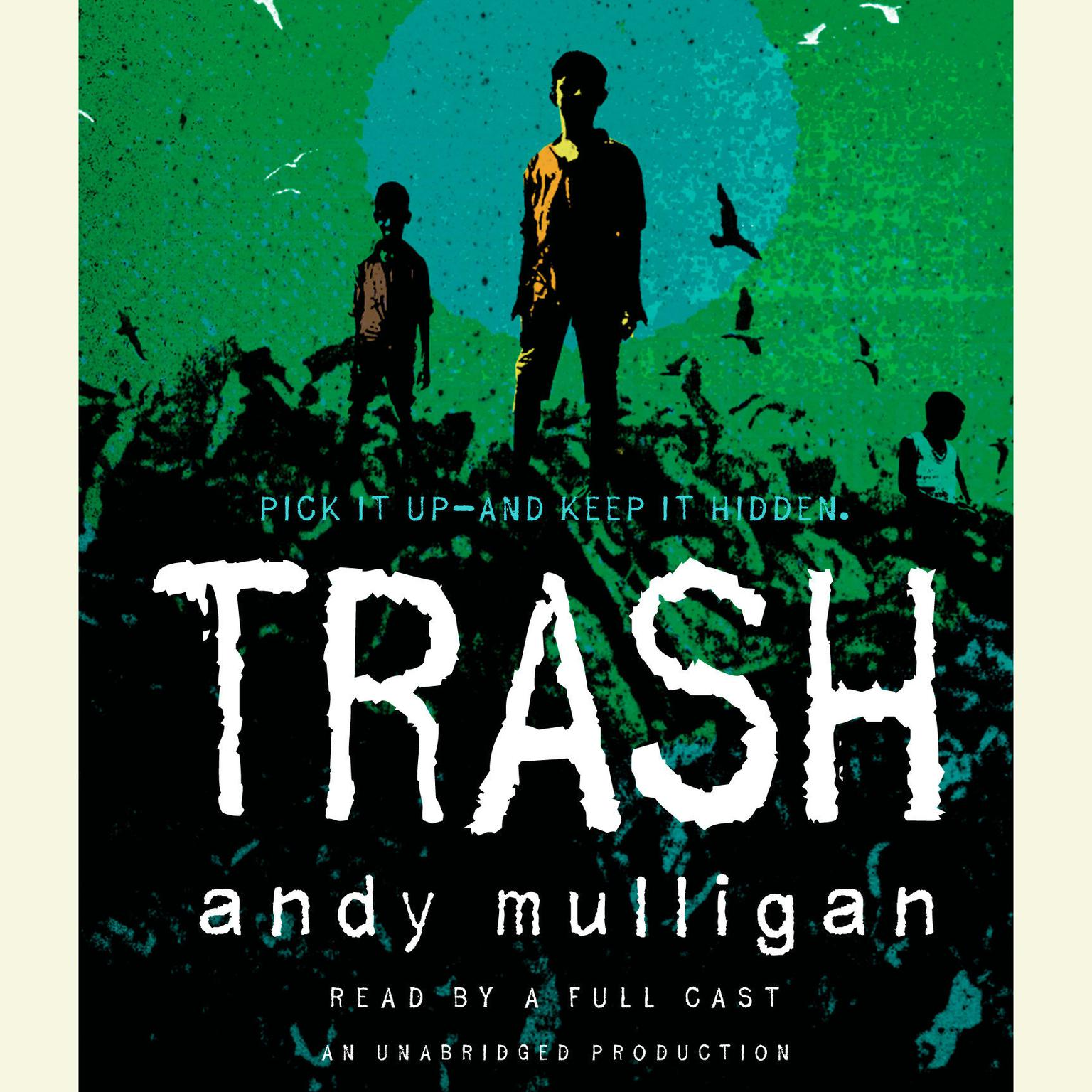 Printable Trash Audiobook Cover Art