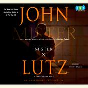 Mister X Audiobook, by John Lutz