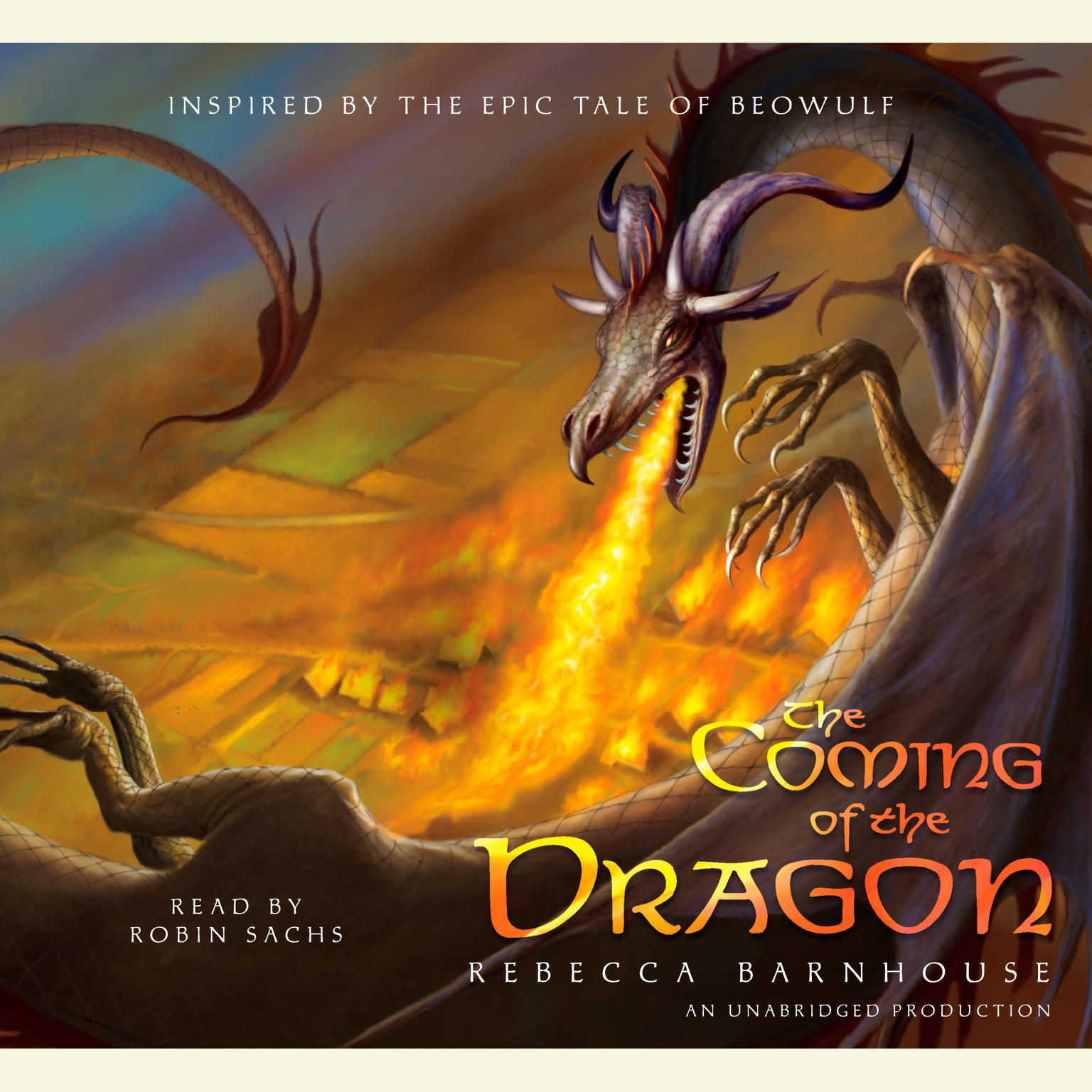 Printable The Coming of the Dragon Audiobook Cover Art
