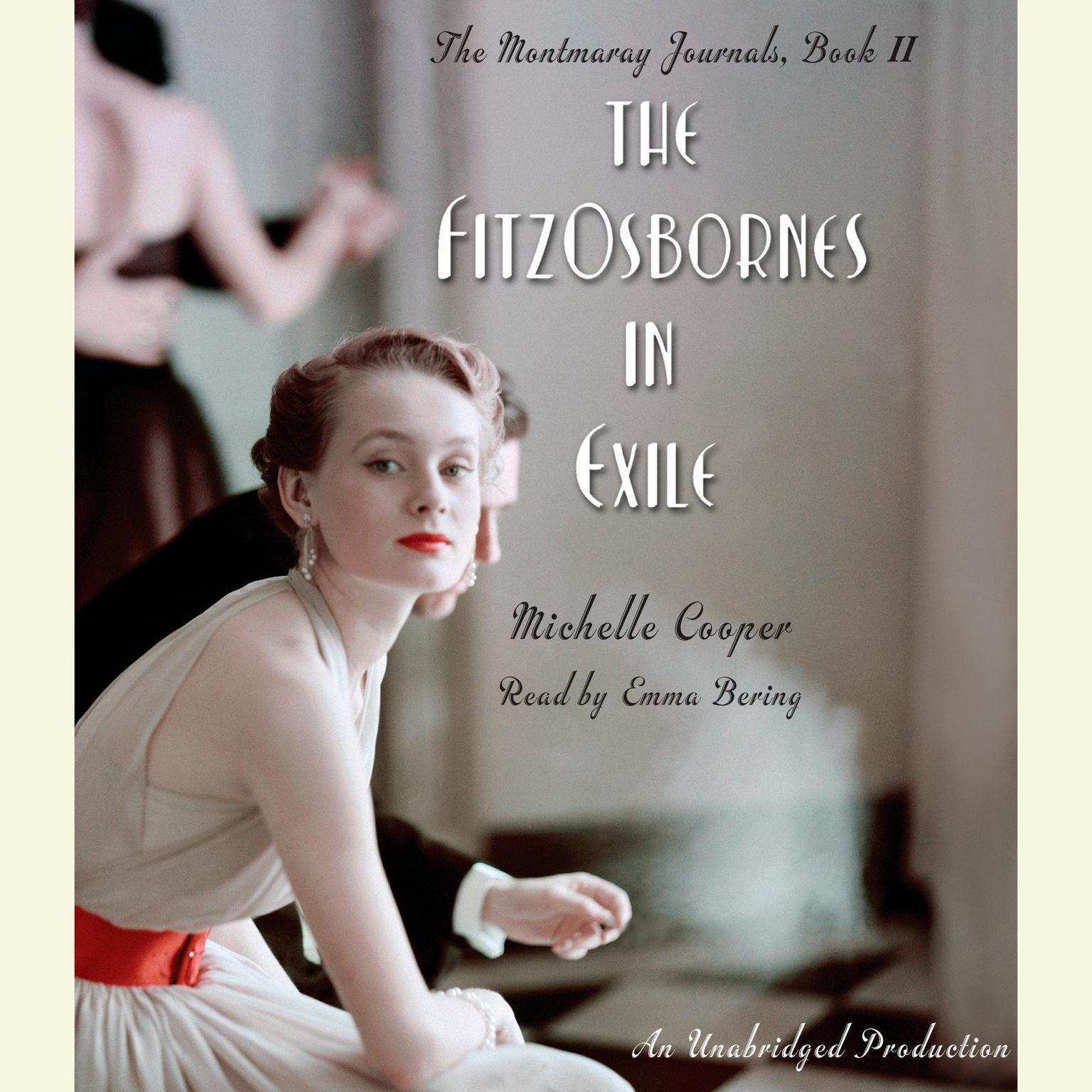 Printable The FitzOsbornes in Exile Audiobook Cover Art