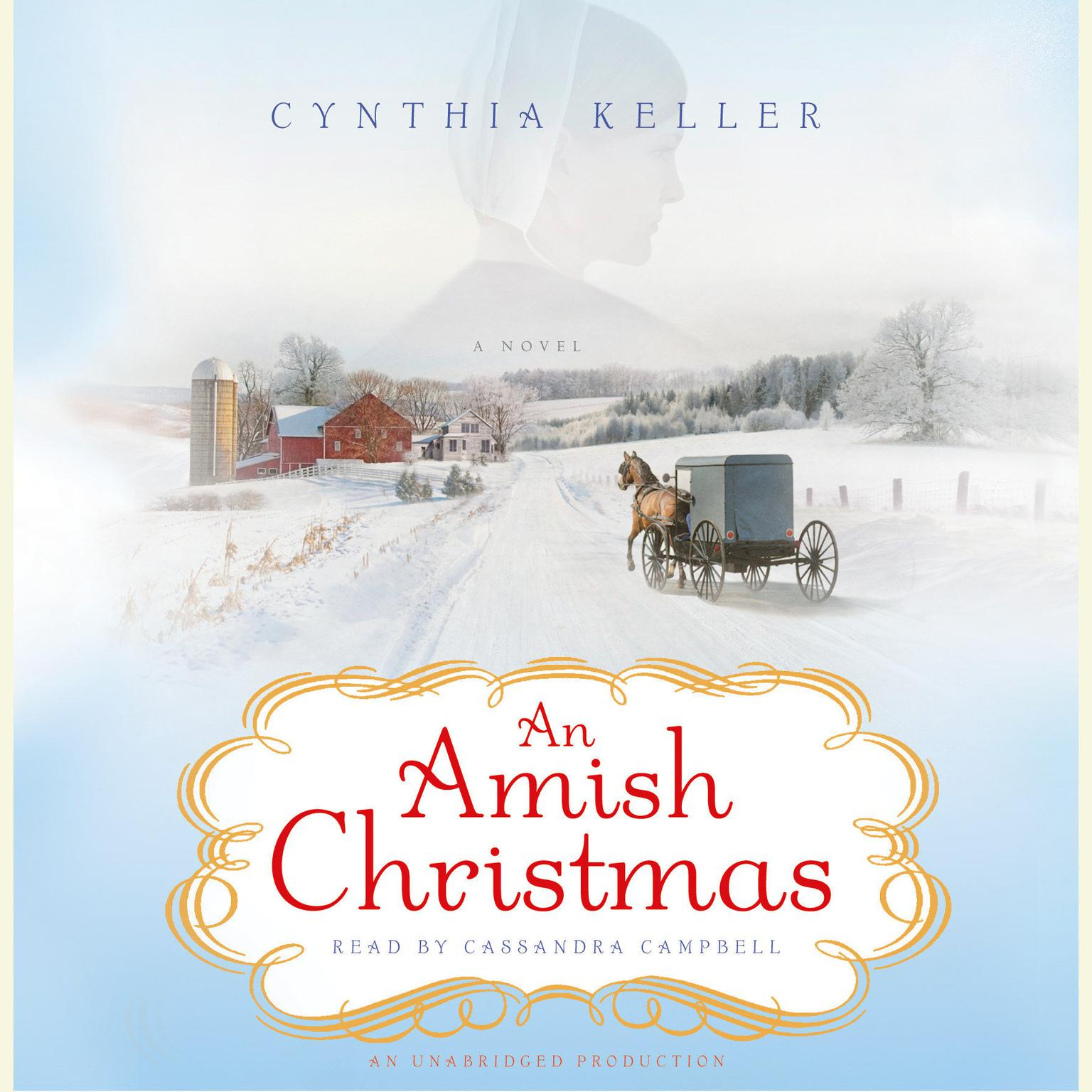 Printable An Amish Christmas Audiobook Cover Art
