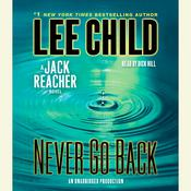 Never Go Back: A Jack Reacher Novel, by Lee Child