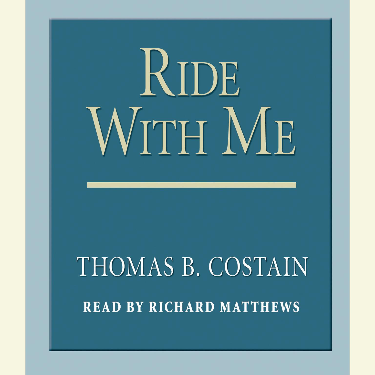 Printable Ride With Me Audiobook Cover Art