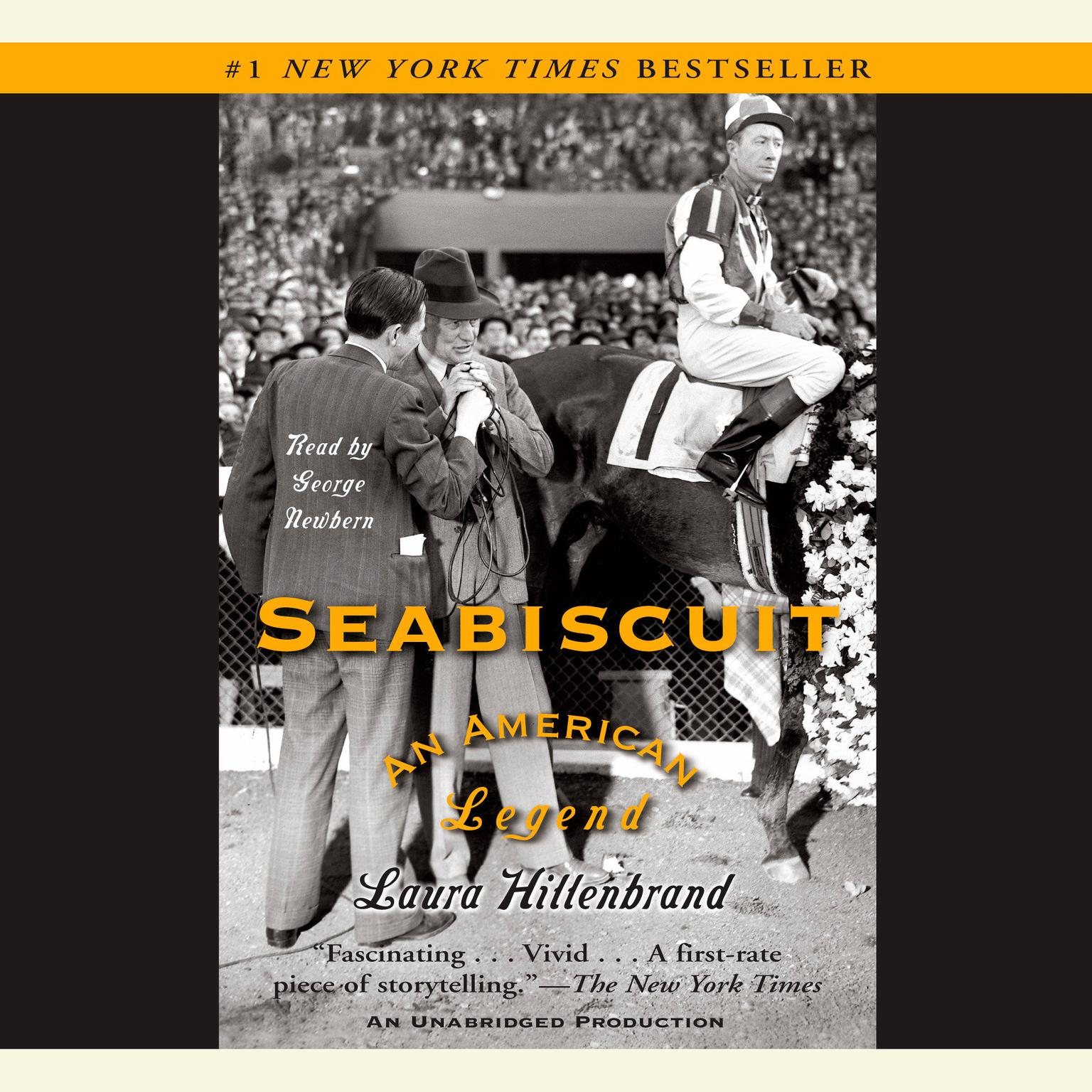 Printable Seabiscuit: An American Legend Audiobook Cover Art