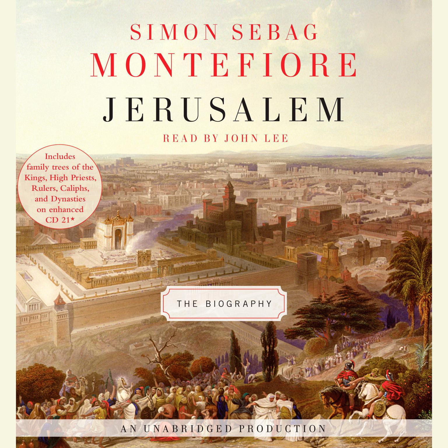 Printable Jerusalem: The Biography Audiobook Cover Art