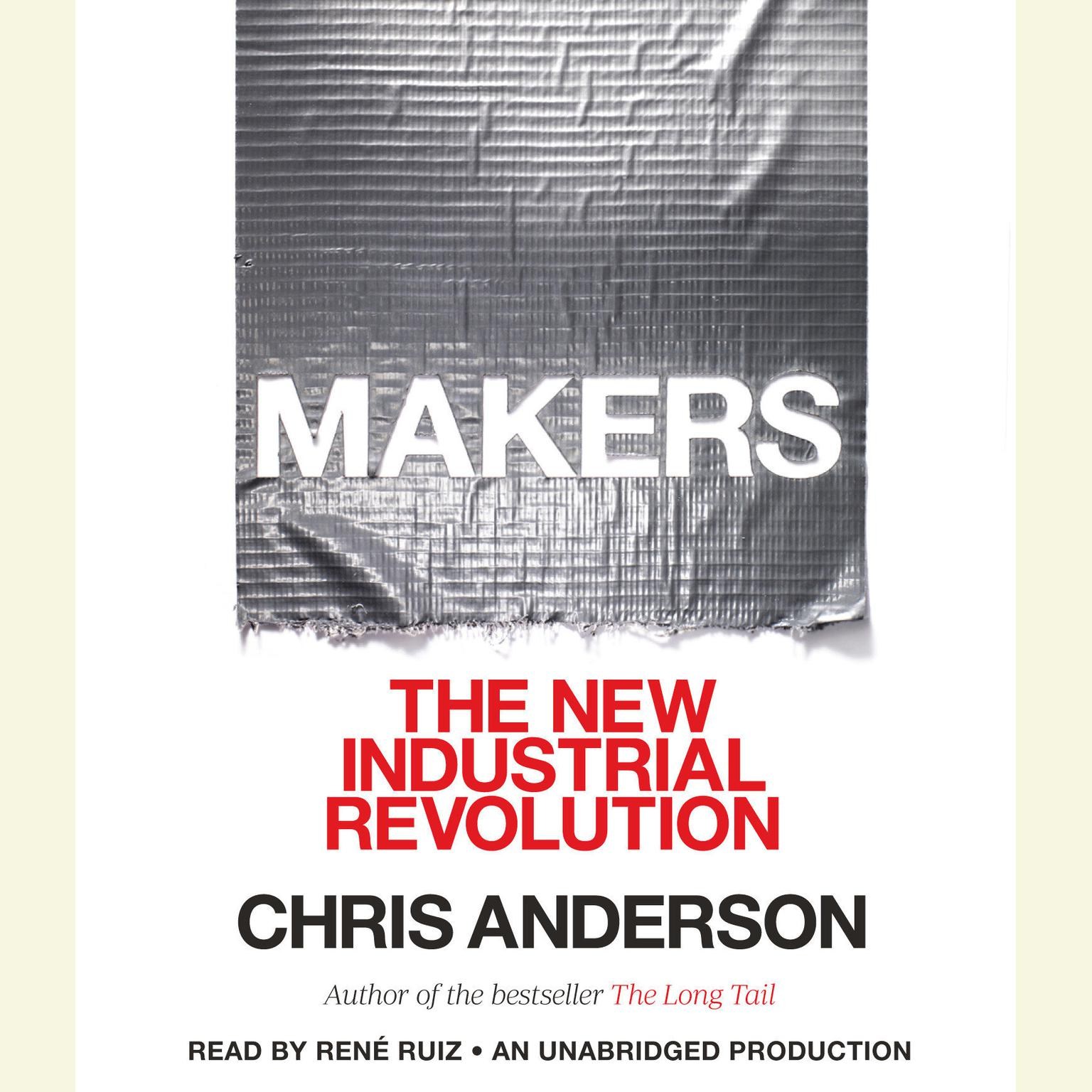 Printable Makers: The New Industrial Revolution Audiobook Cover Art