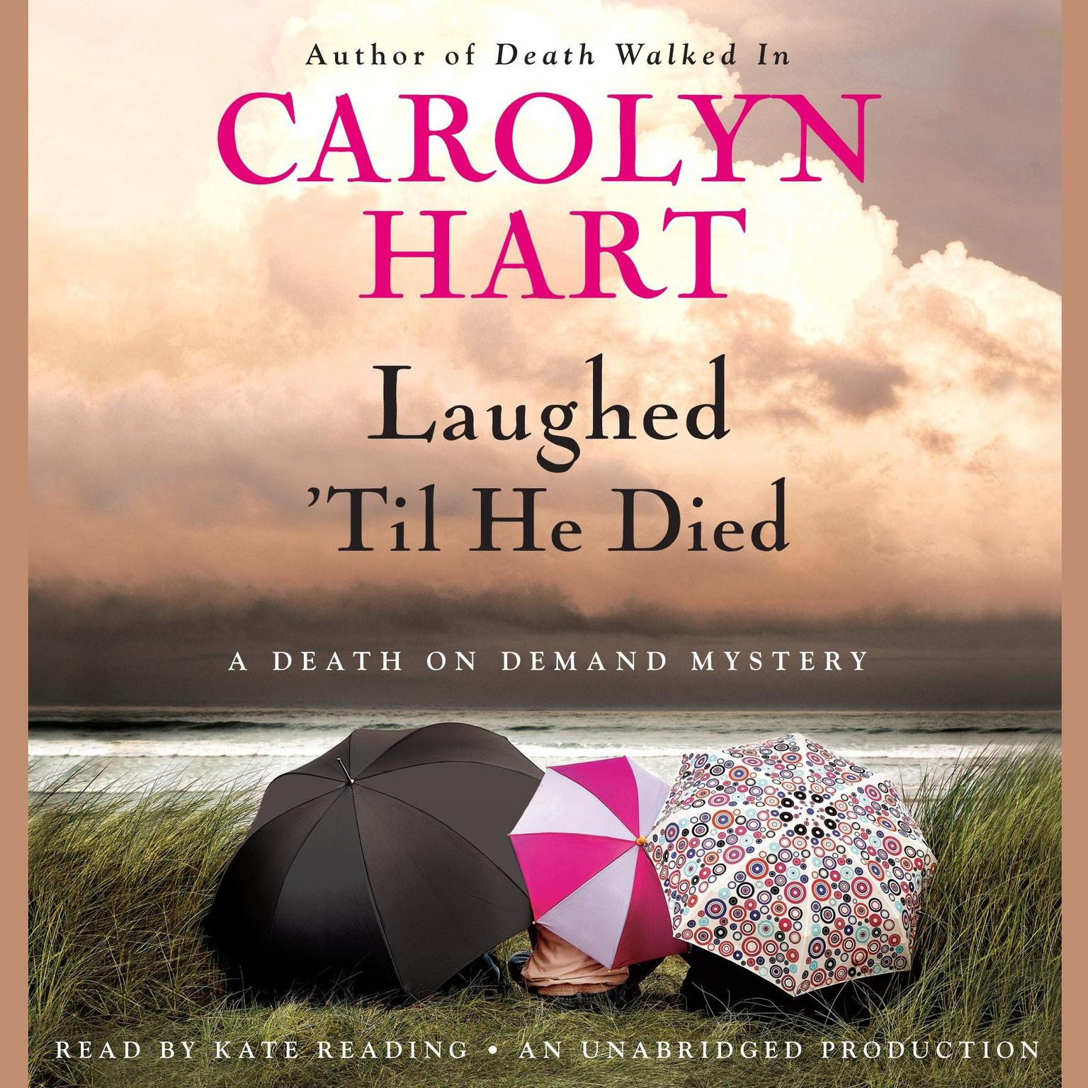 Printable Laughed 'Til He Died Audiobook Cover Art