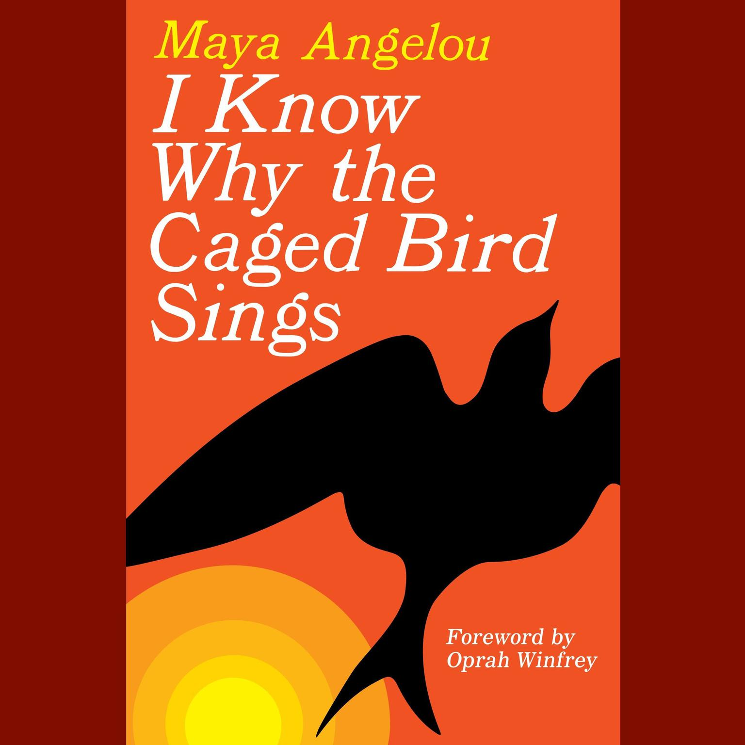 Printable I Know Why the Caged Bird Sings Audiobook Cover Art
