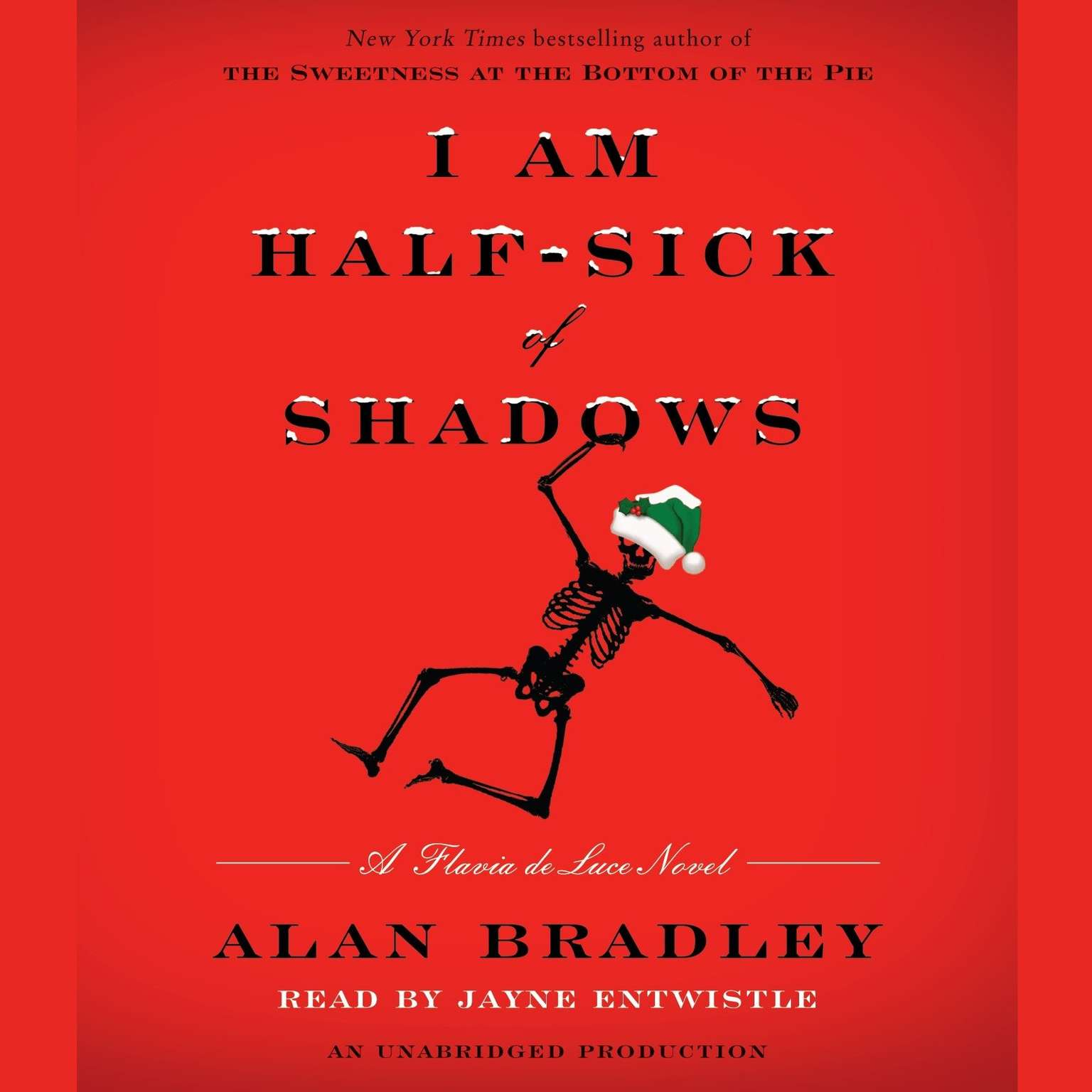 Printable I Am Half-Sick of Shadows: A Flavia de Luce Novel Audiobook Cover Art