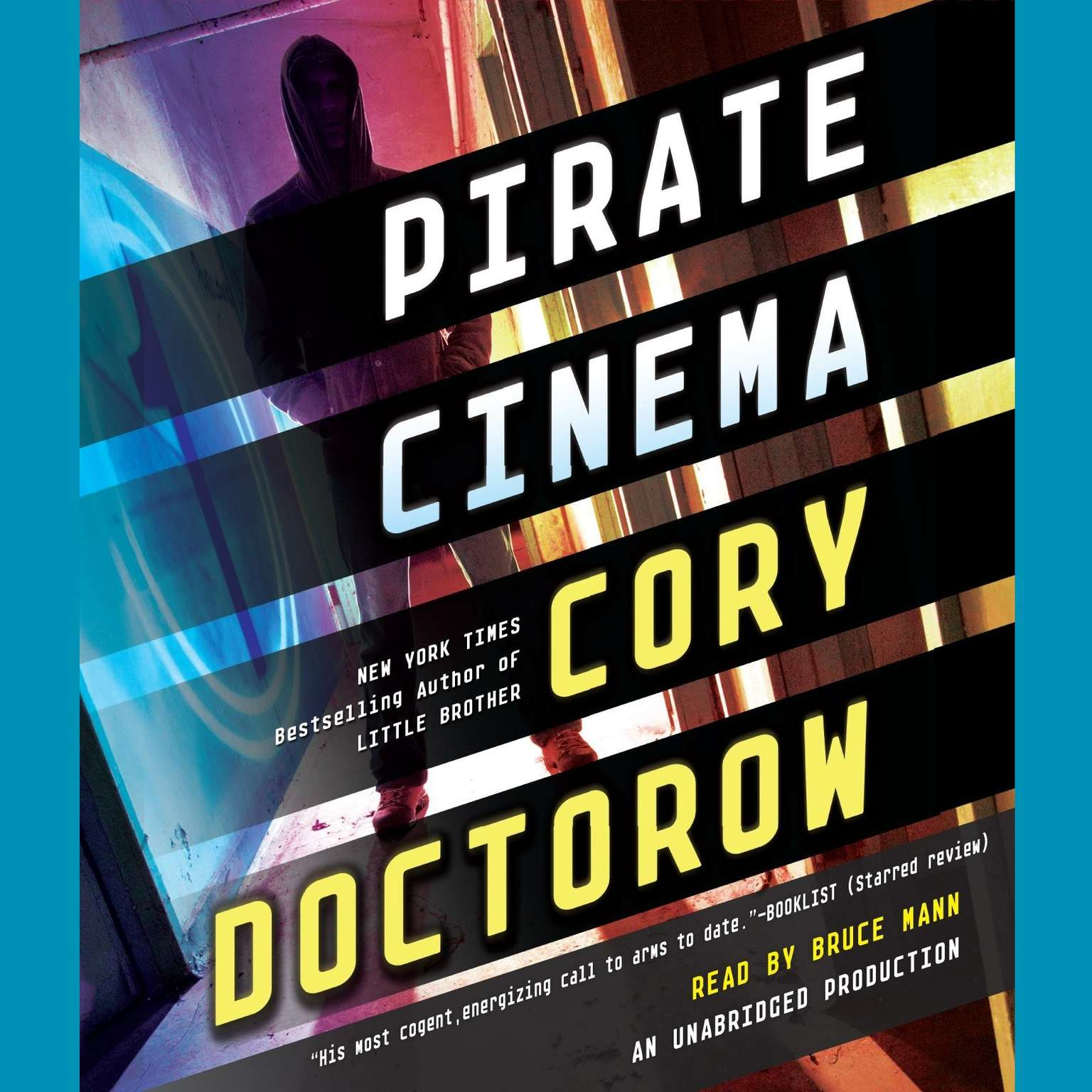 Printable Pirate Cinema Audiobook Cover Art