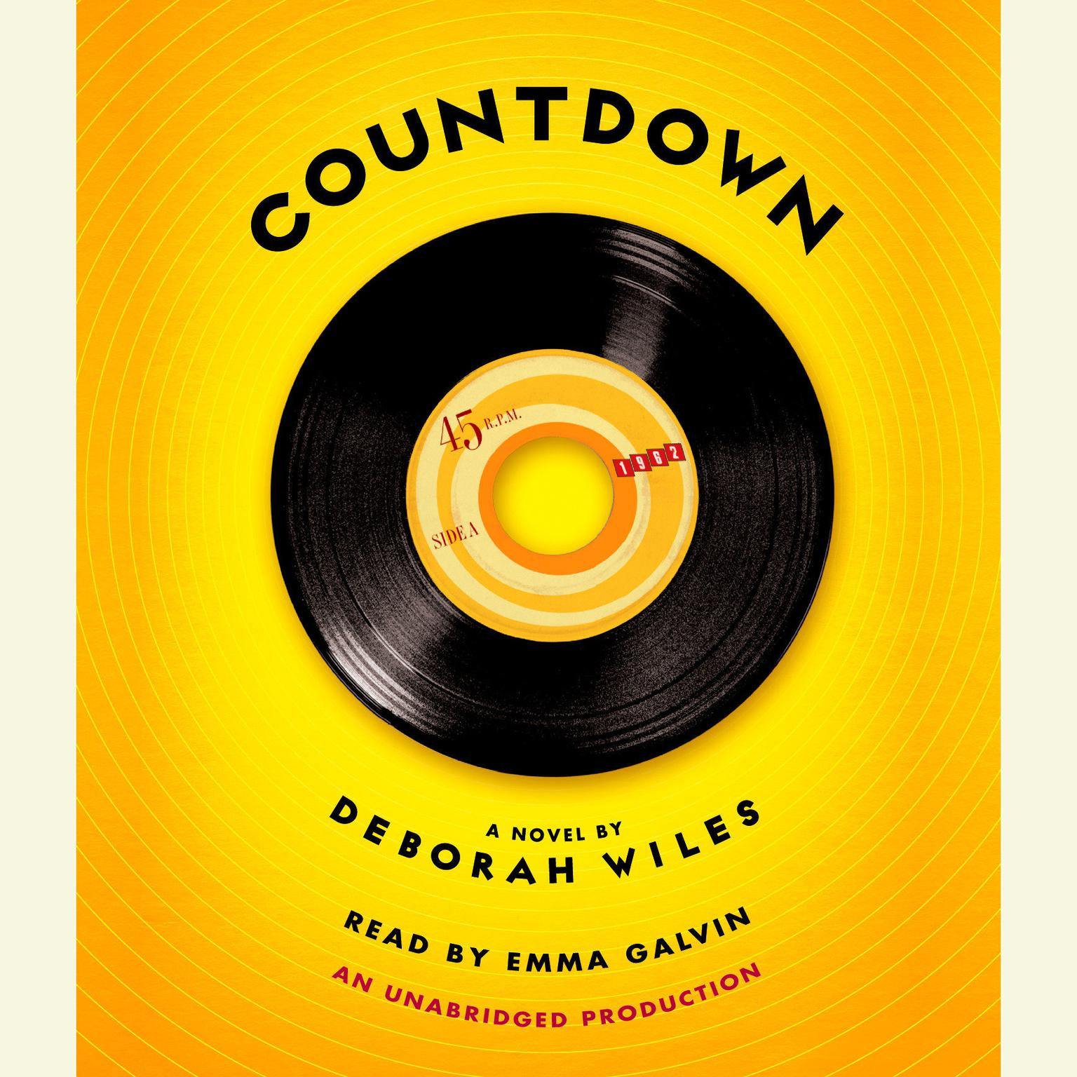 Printable Countdown: The Sixties Trilogy, Book One Audiobook Cover Art
