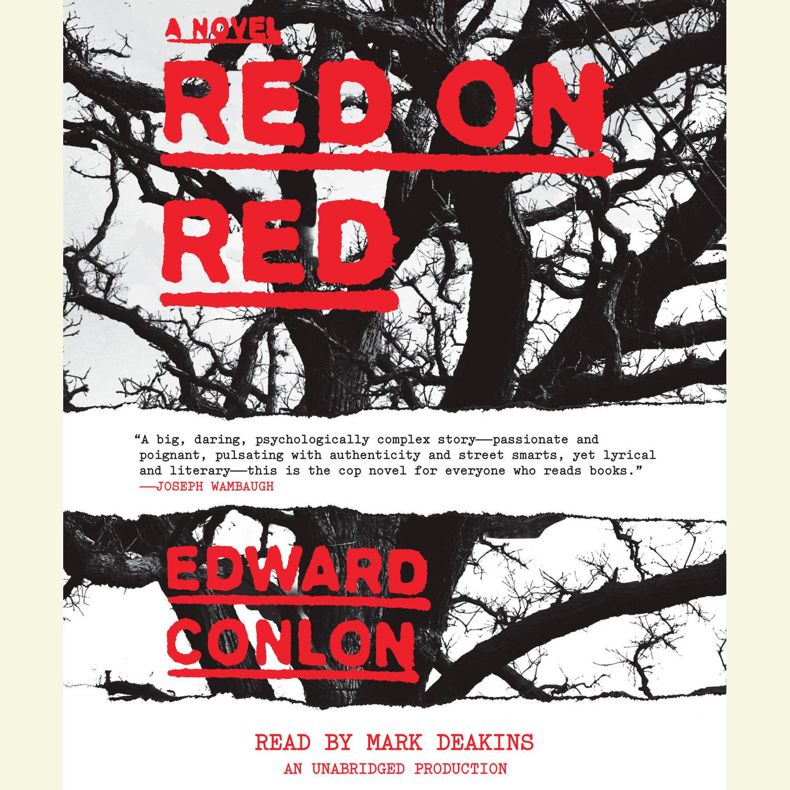 Printable Red on Red: A Novel Audiobook Cover Art