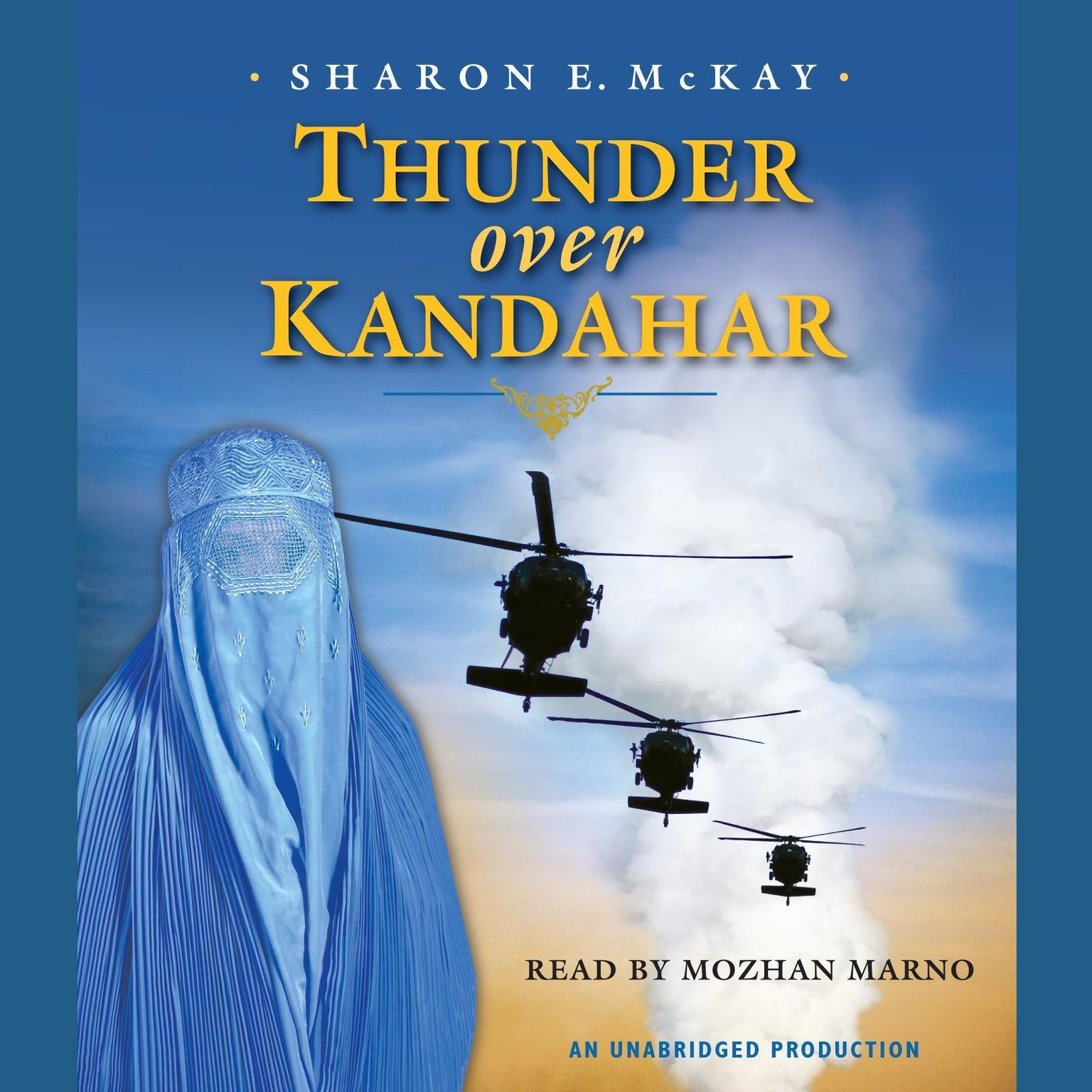 Printable Thunder Over Kandahar Audiobook Cover Art