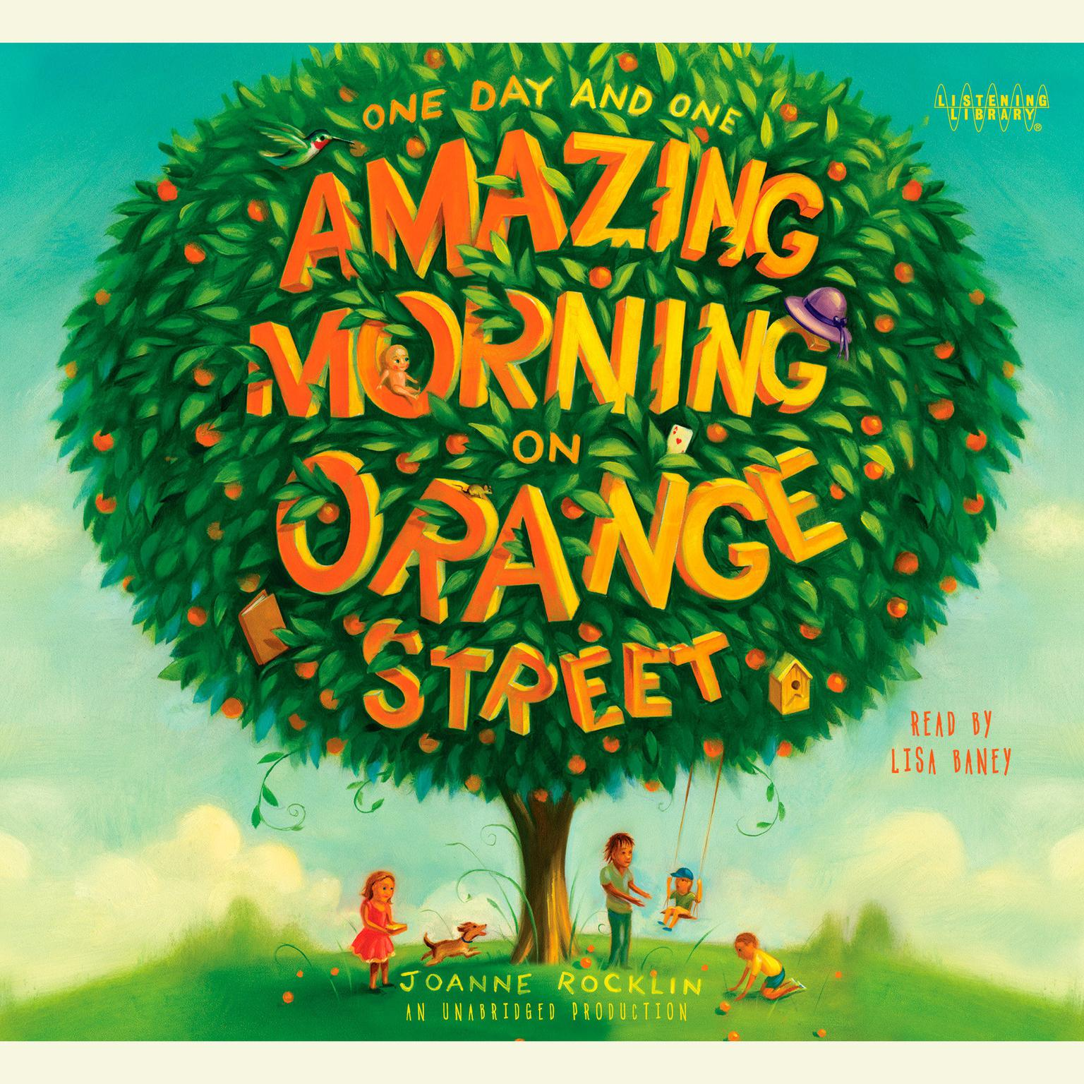 Printable One Day and One Amazing Morning on Orange Street Audiobook Cover Art