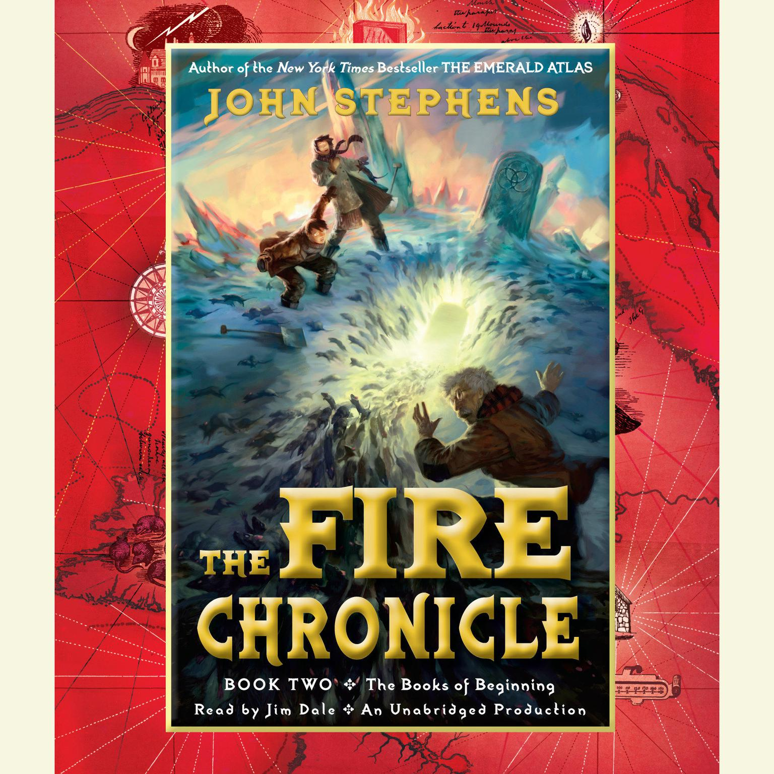Printable The Fire Chronicle Audiobook Cover Art