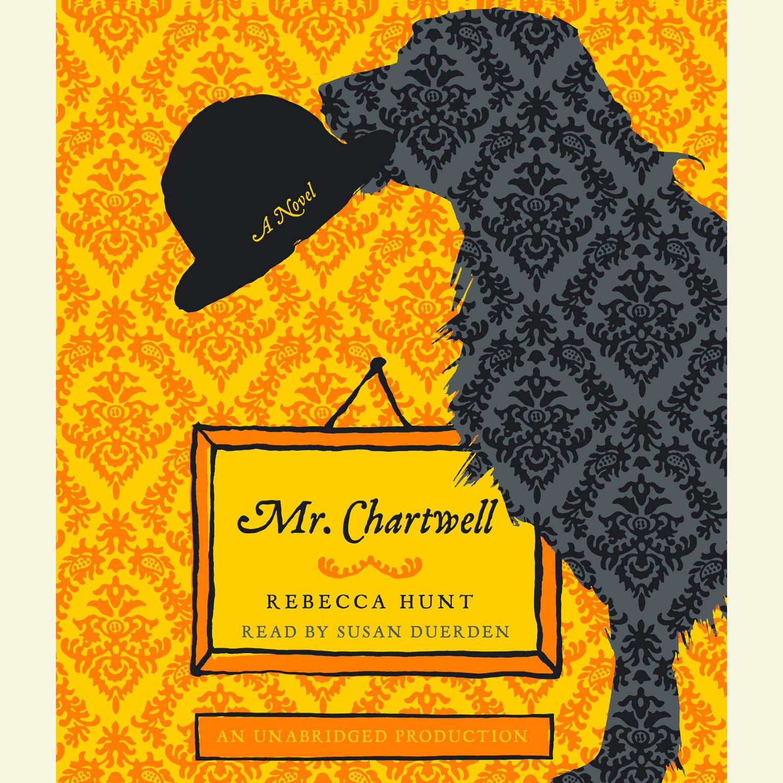 Printable Mr. Chartwell: A Novel Audiobook Cover Art