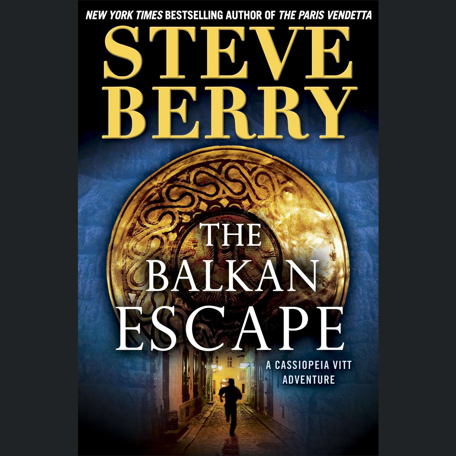 Printable The Balkan Escape: A Cassiopeia Vitt Adventure Audiobook Cover Art