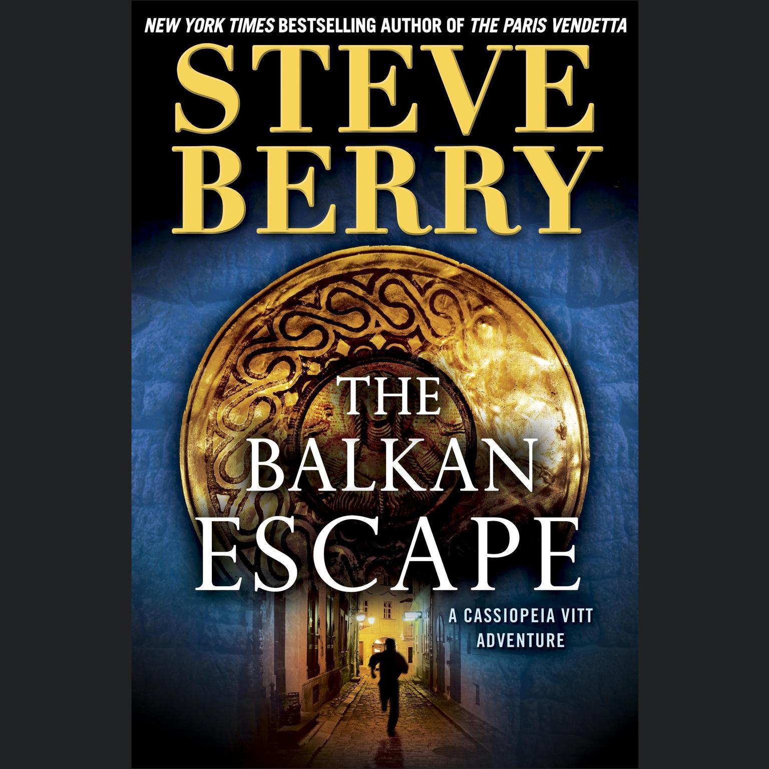 Printable The Balkan Escape (Short Story): A Cassiopeia Vitt Adventure Audiobook Cover Art