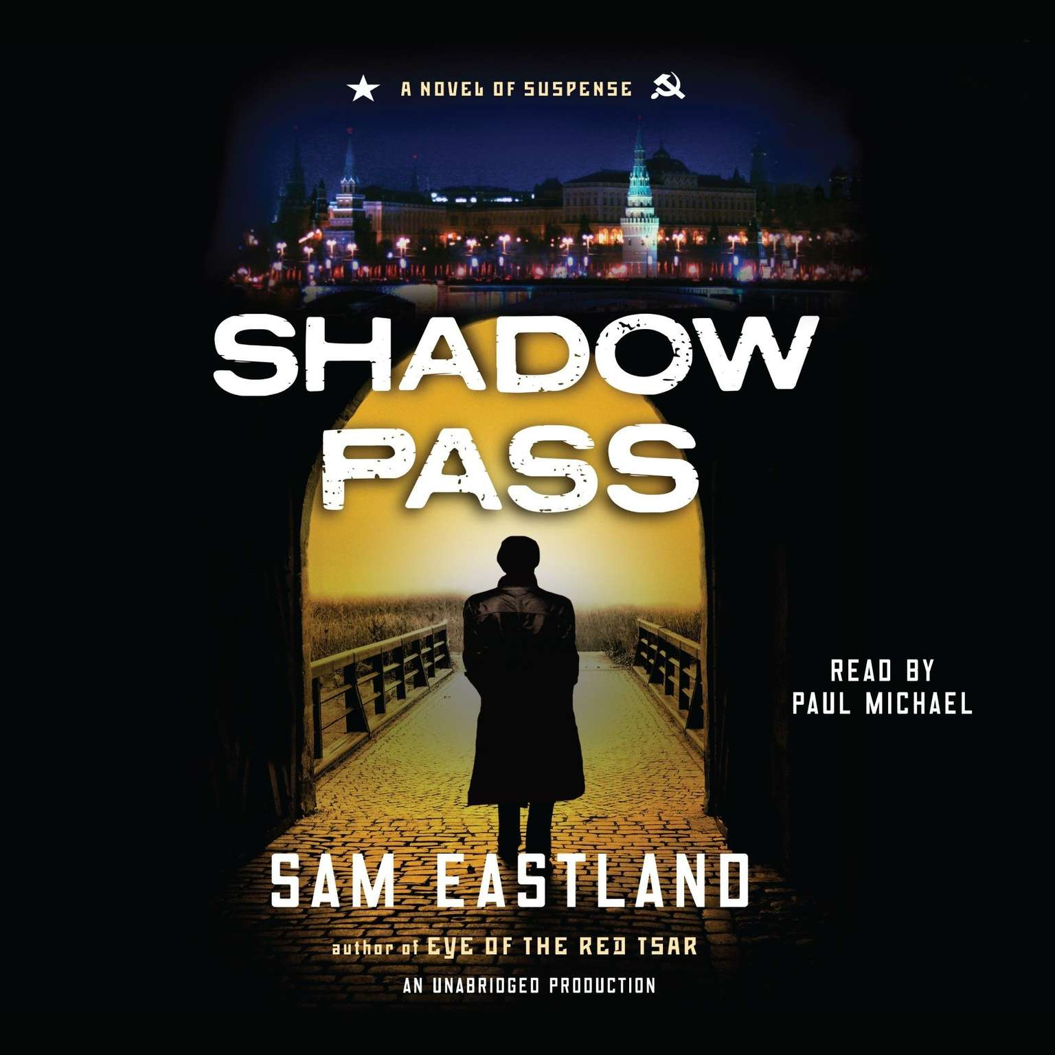 Printable Shadow Pass: A Novel of Suspense Audiobook Cover Art