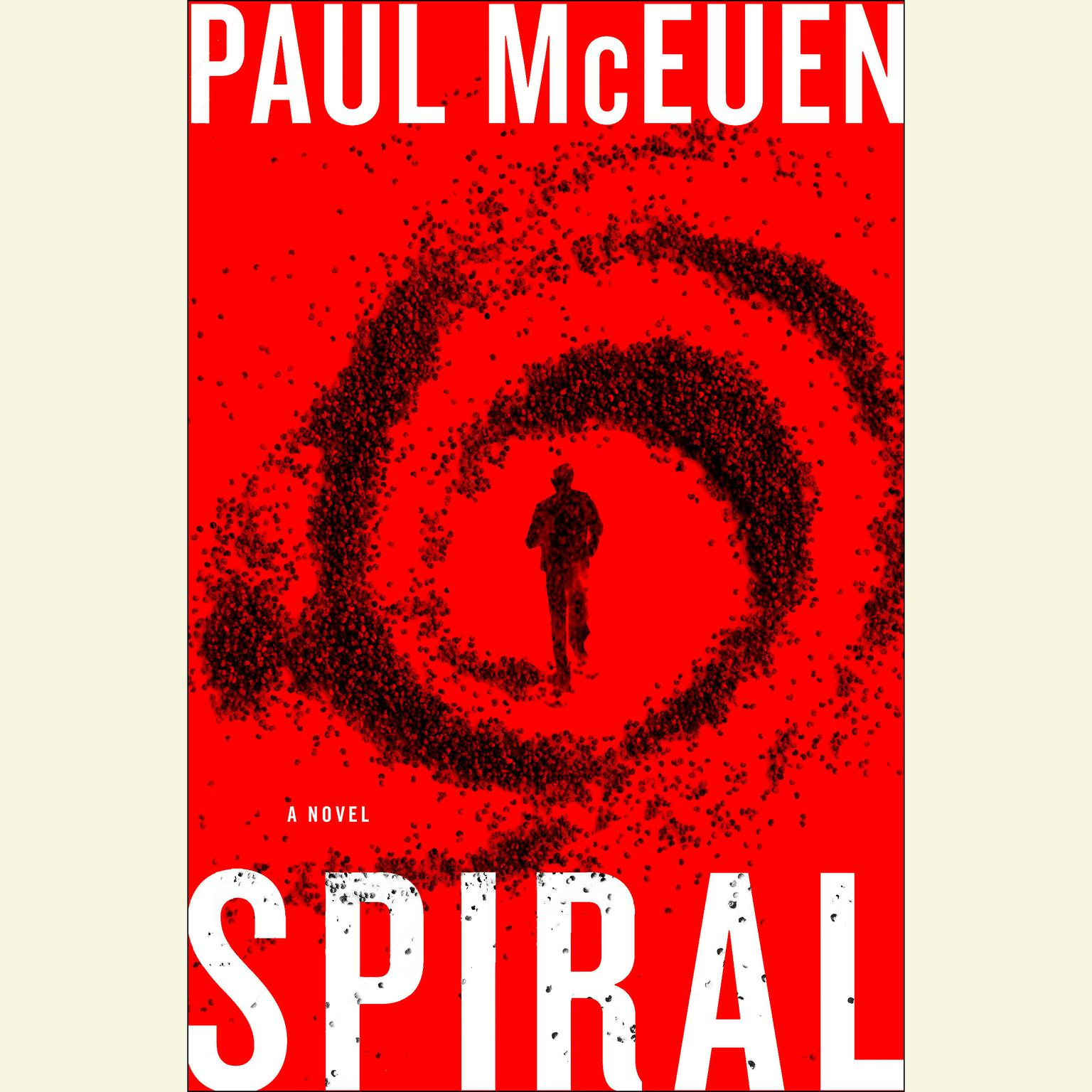 Printable Spiral: A Novel Audiobook Cover Art