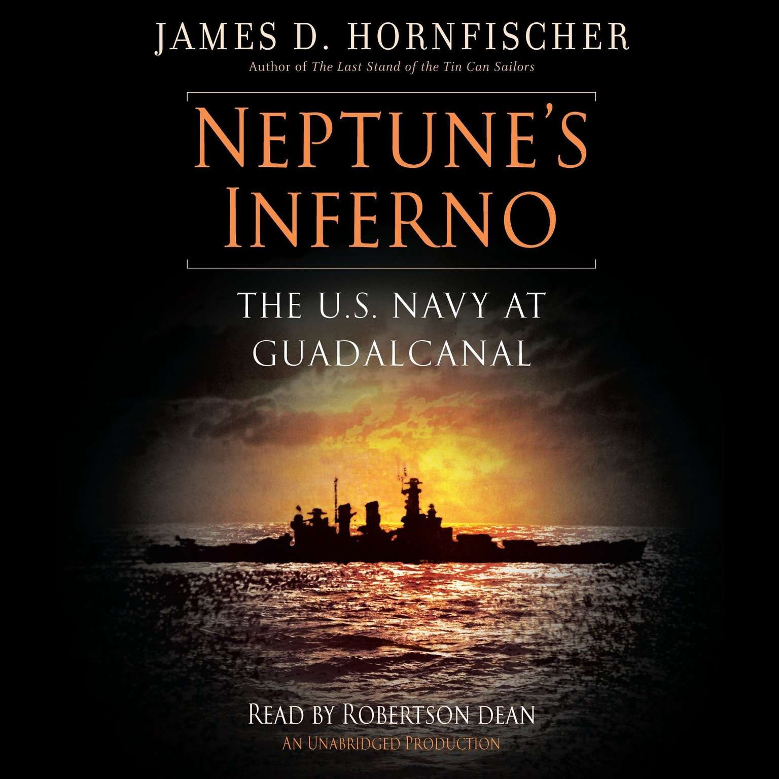 Printable Neptune's Inferno: The U.S. Navy at Guadalcanal Audiobook Cover Art