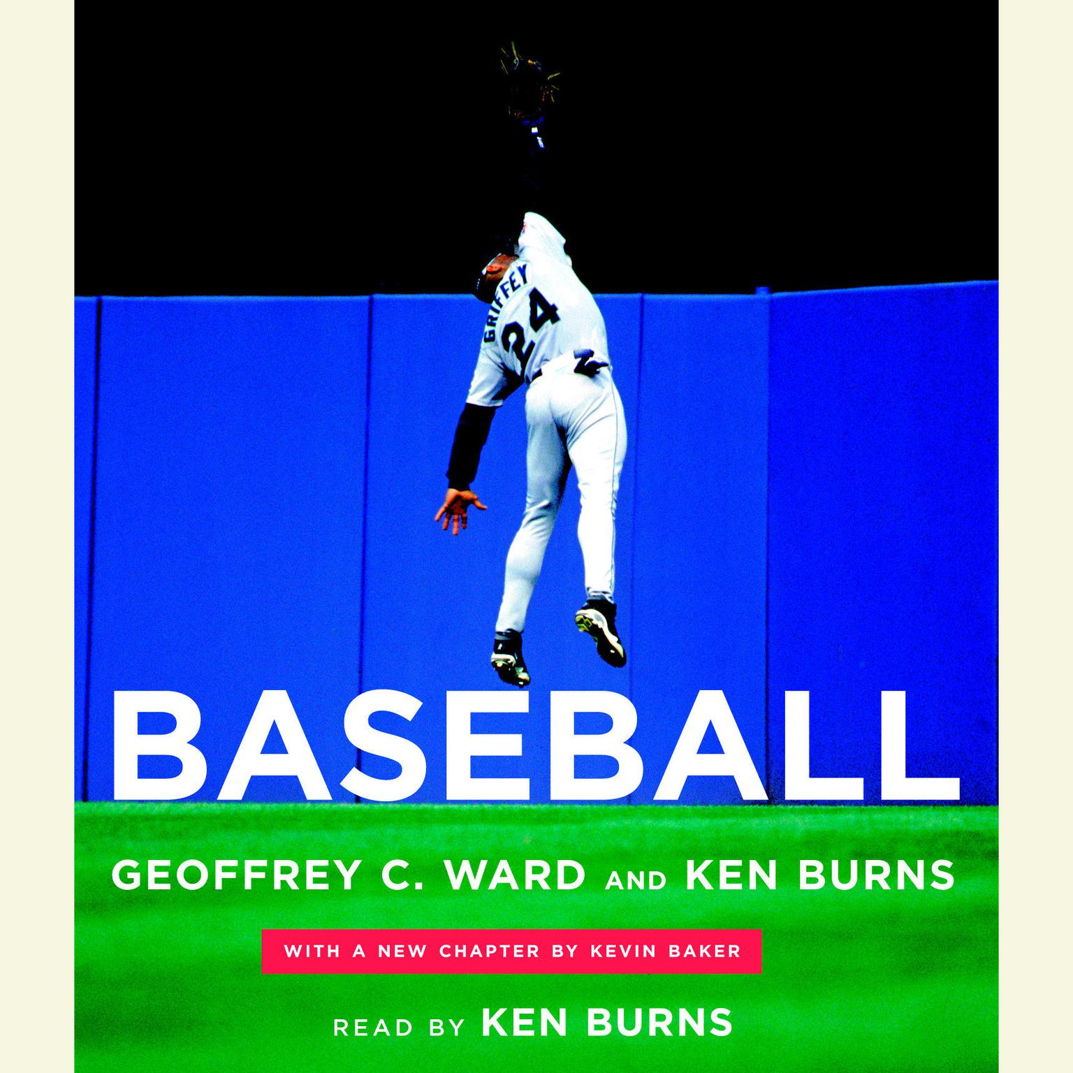 Printable Baseball Audiobook Cover Art