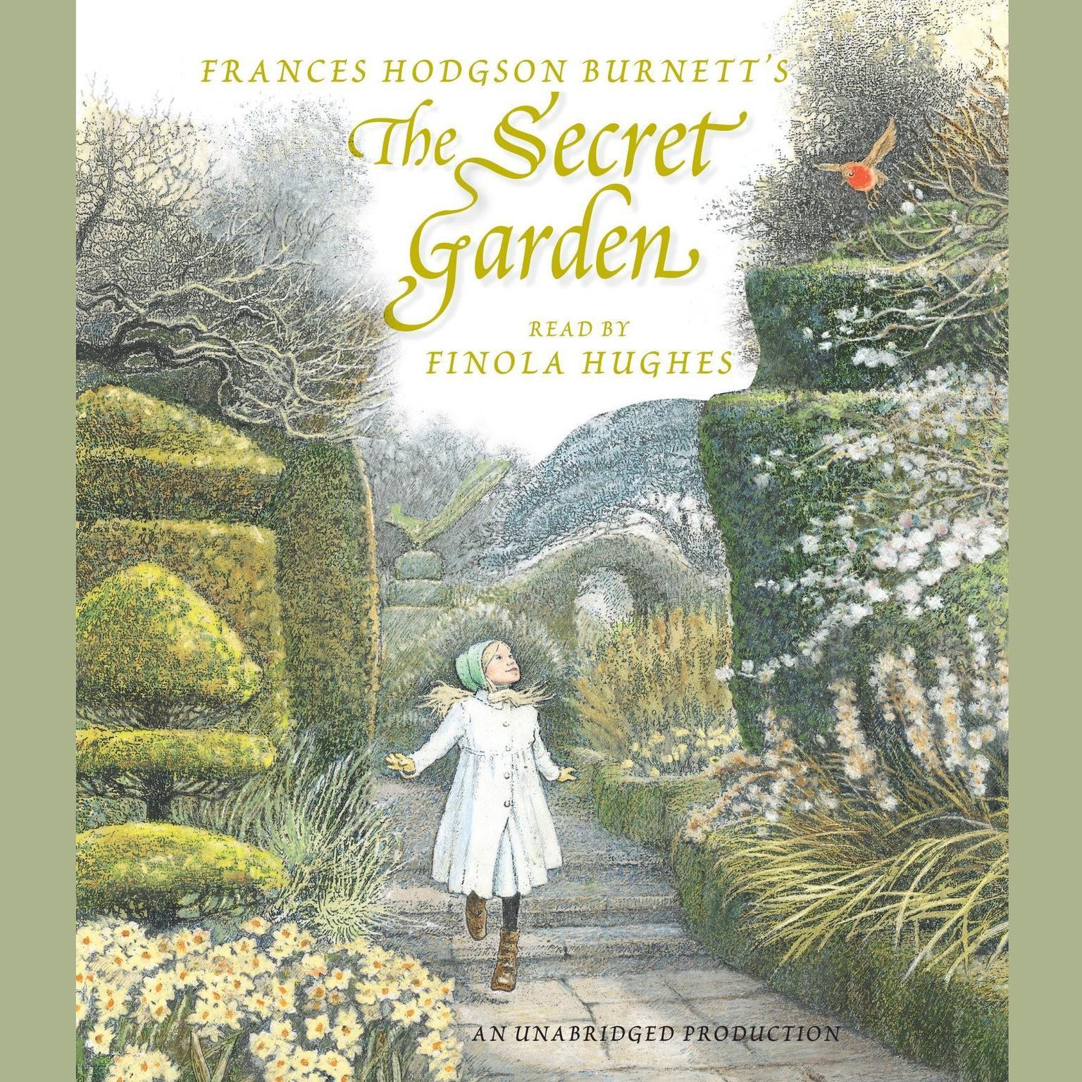 Printable The Secret Garden Audiobook Cover Art