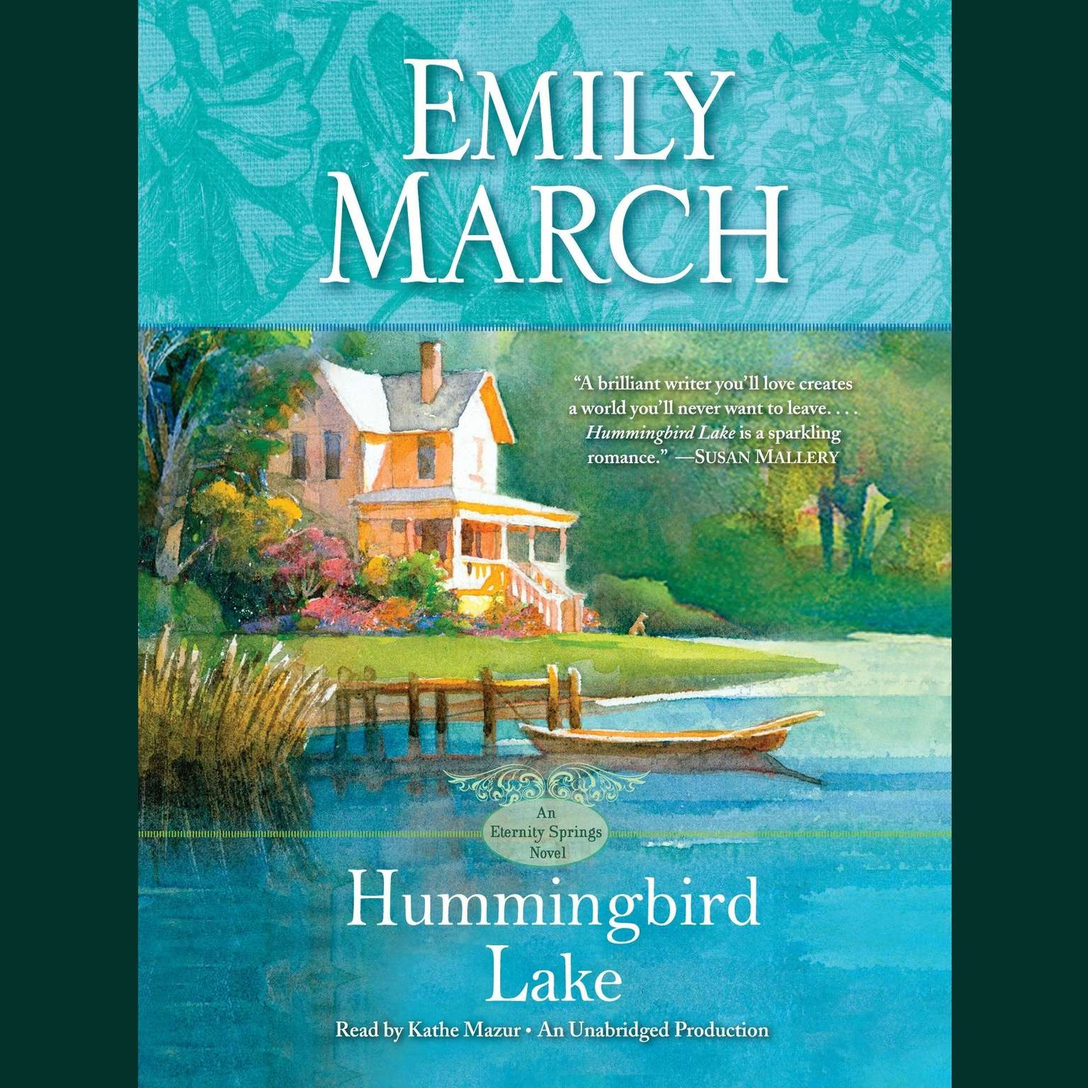 Printable Hummingbird Lake: An Eternity Springs Novel Audiobook Cover Art