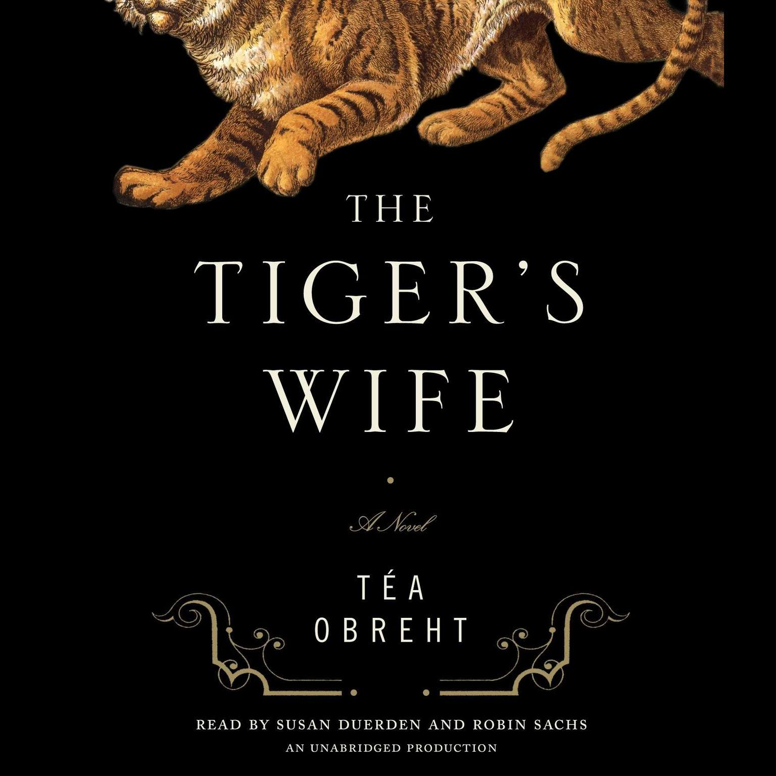 Printable The Tiger's Wife: A Novel Audiobook Cover Art