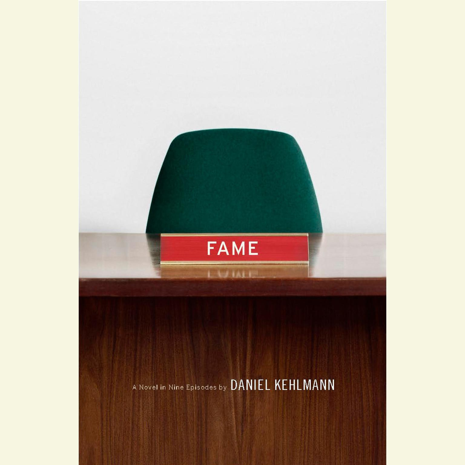 Printable Fame Audiobook Cover Art