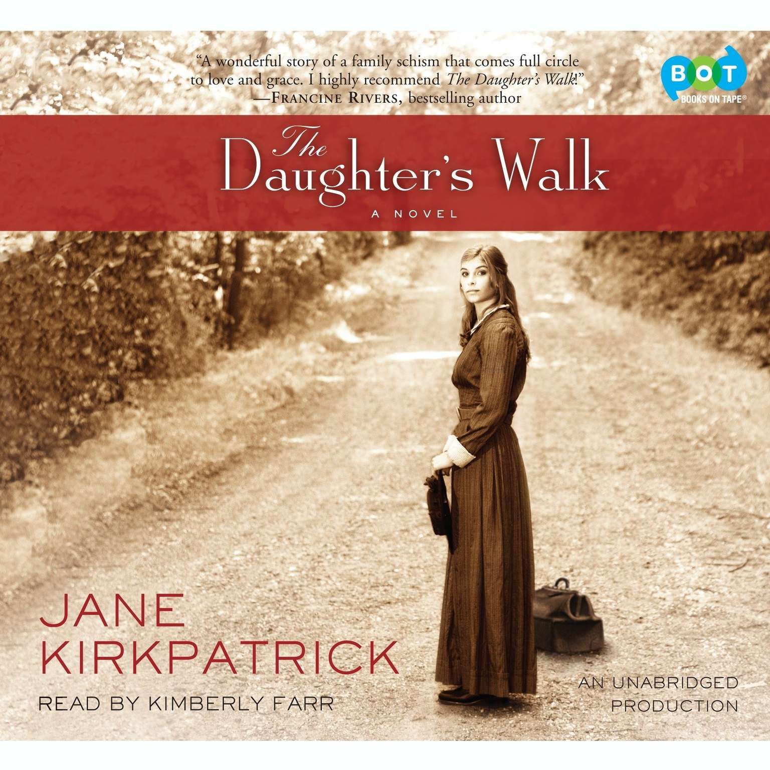 Printable The Daughter's Walk: A Novel Audiobook Cover Art