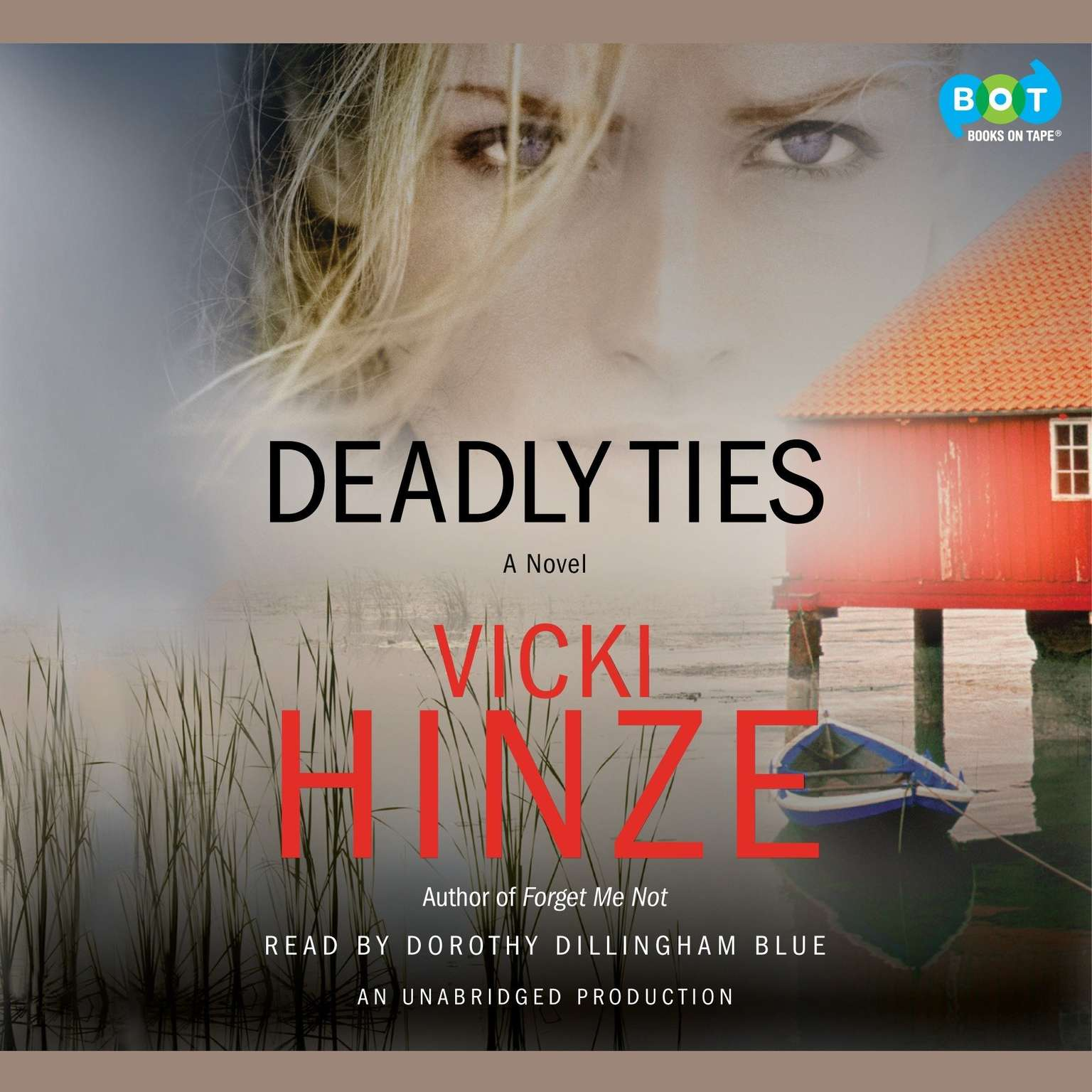 Printable Deadly Ties: A Novel Audiobook Cover Art