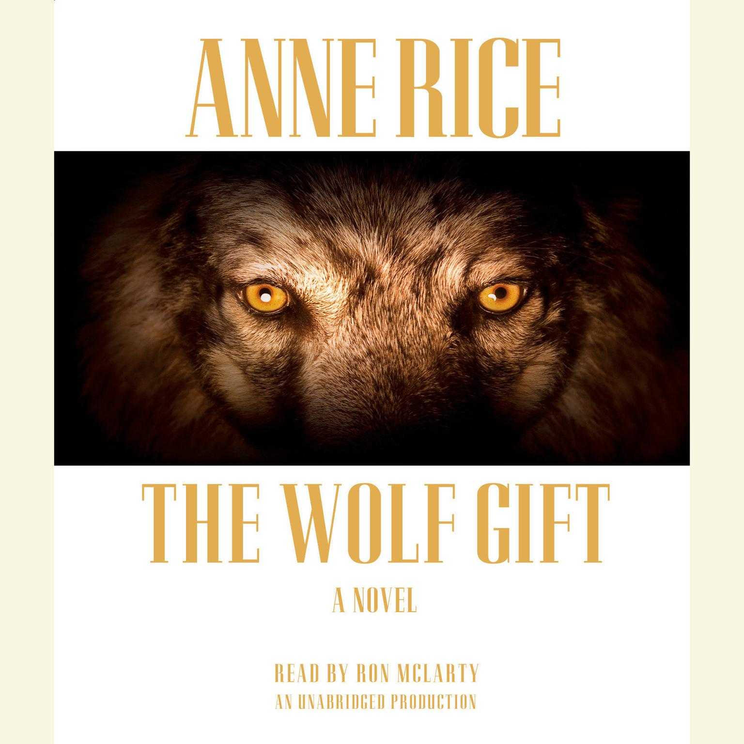 Printable The Wolf Gift Audiobook Cover Art